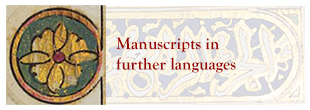 Manuscripts in Further Languages