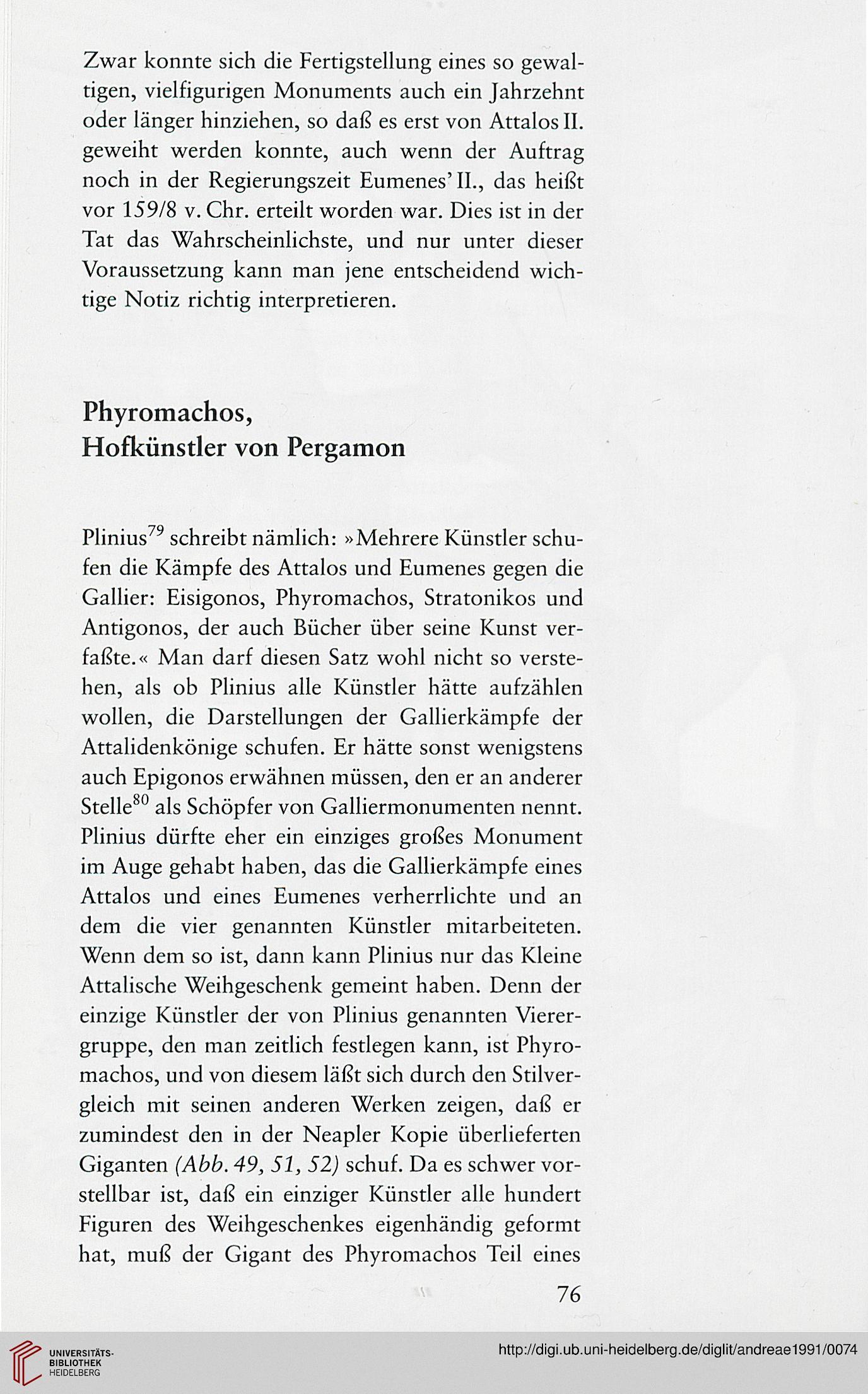 Andreae Bernard Laokoon Und Die Kunst Von Pergamon Die Hybris Der