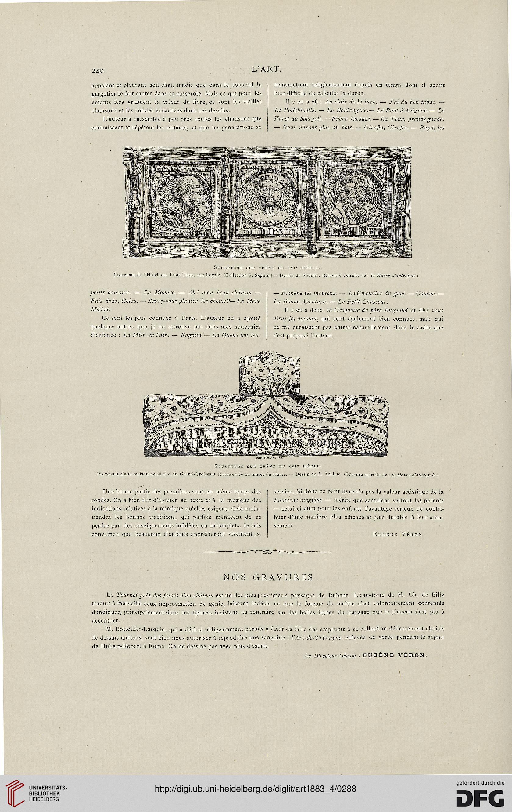 L Art Revue Hebdomadaire Illustrée 9 1883 Teil 4