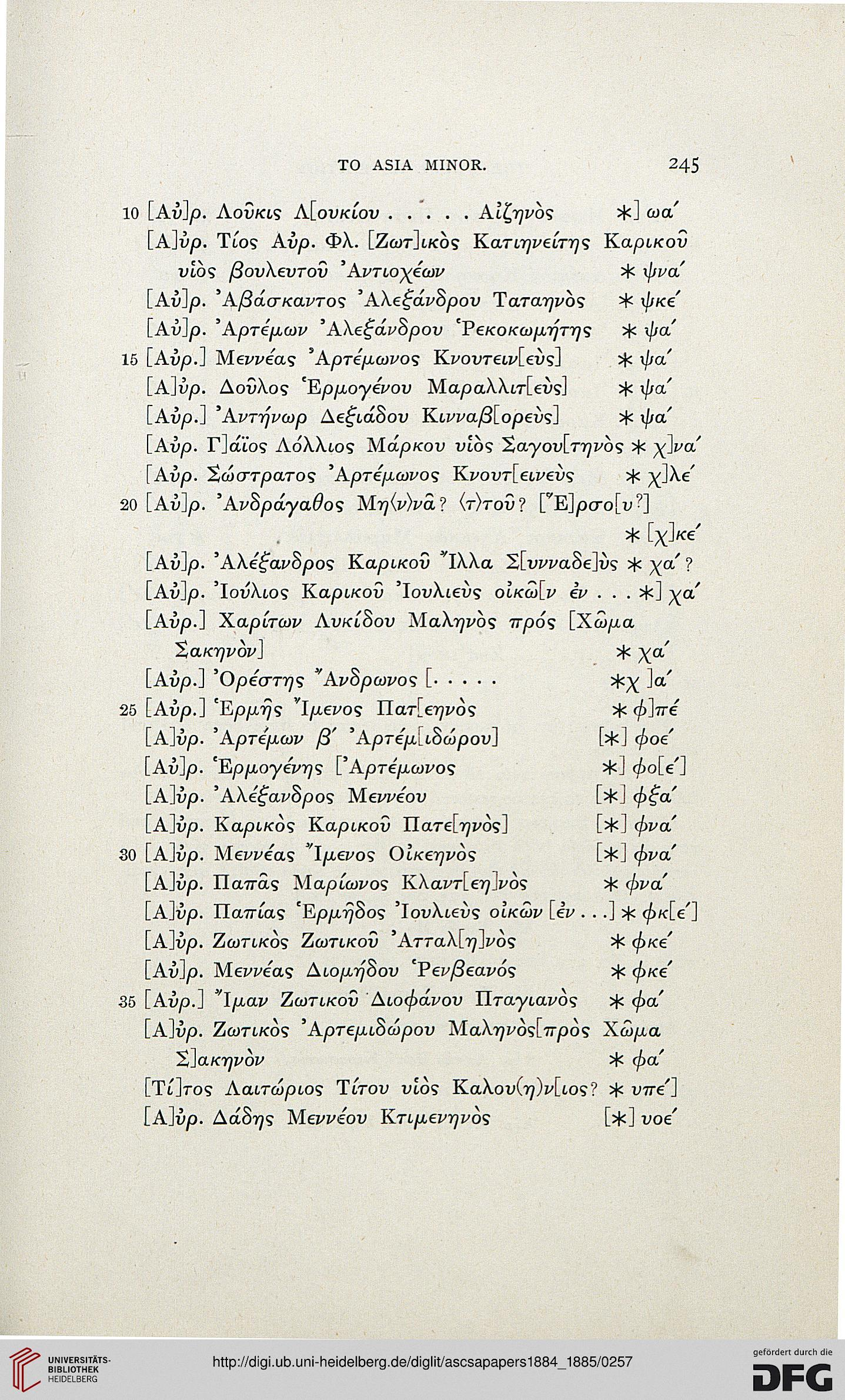 Papers of the American School of Classical Studies at Athens (3 1884