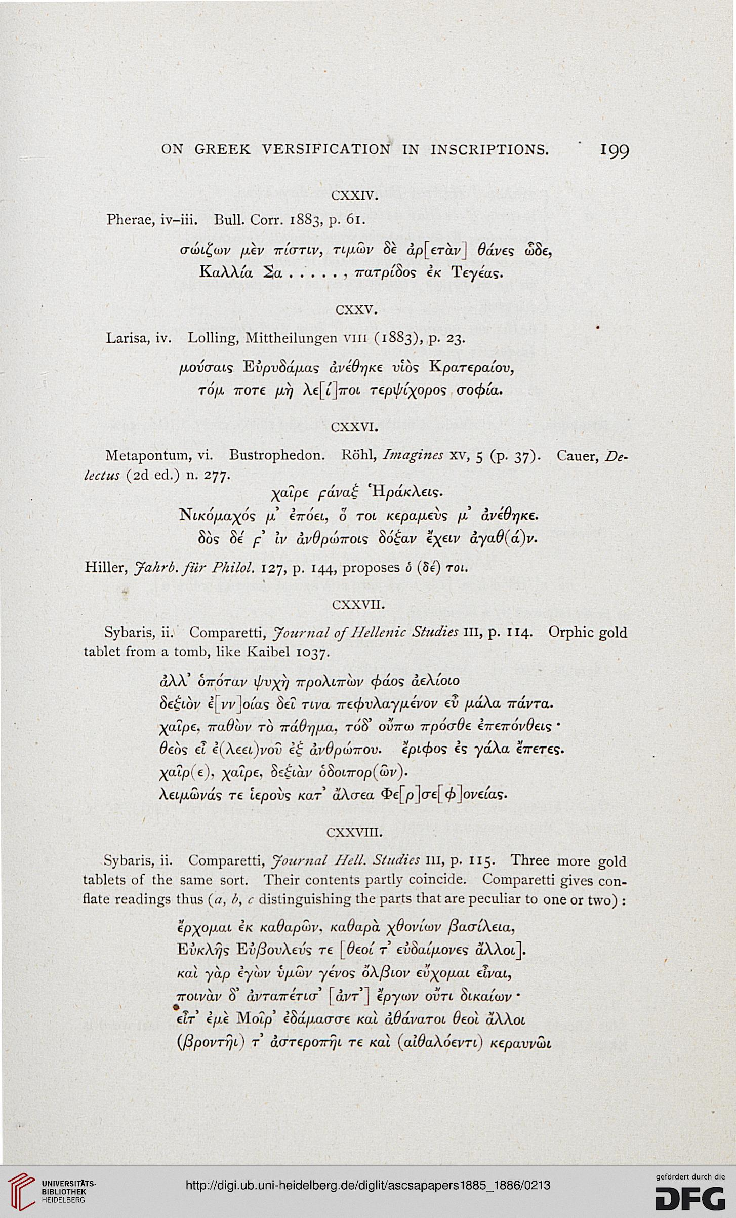 Papers of the American School of Classical Studies at Athens (4 1885