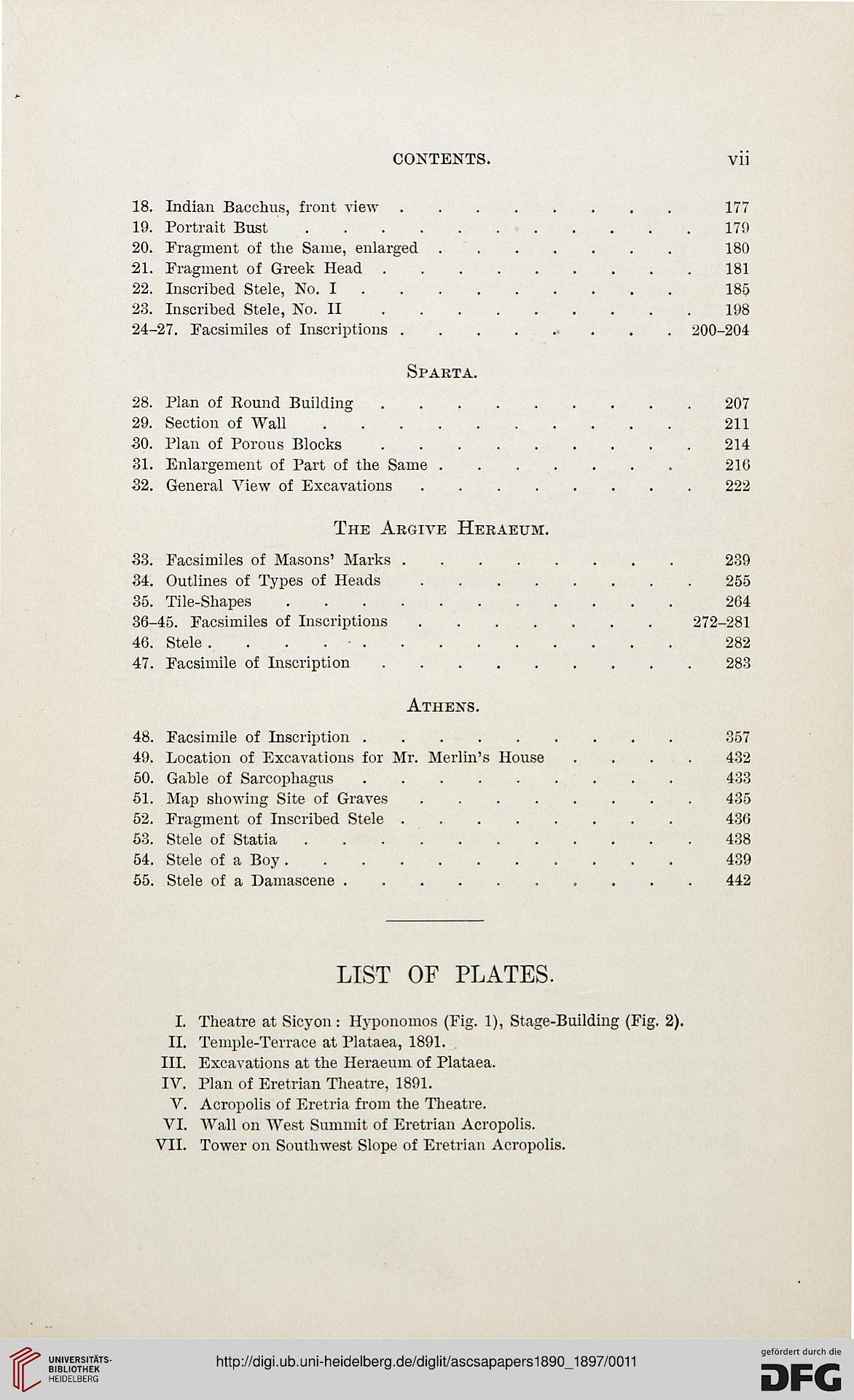 Papers of the American School of Classical Studies at Athens ...