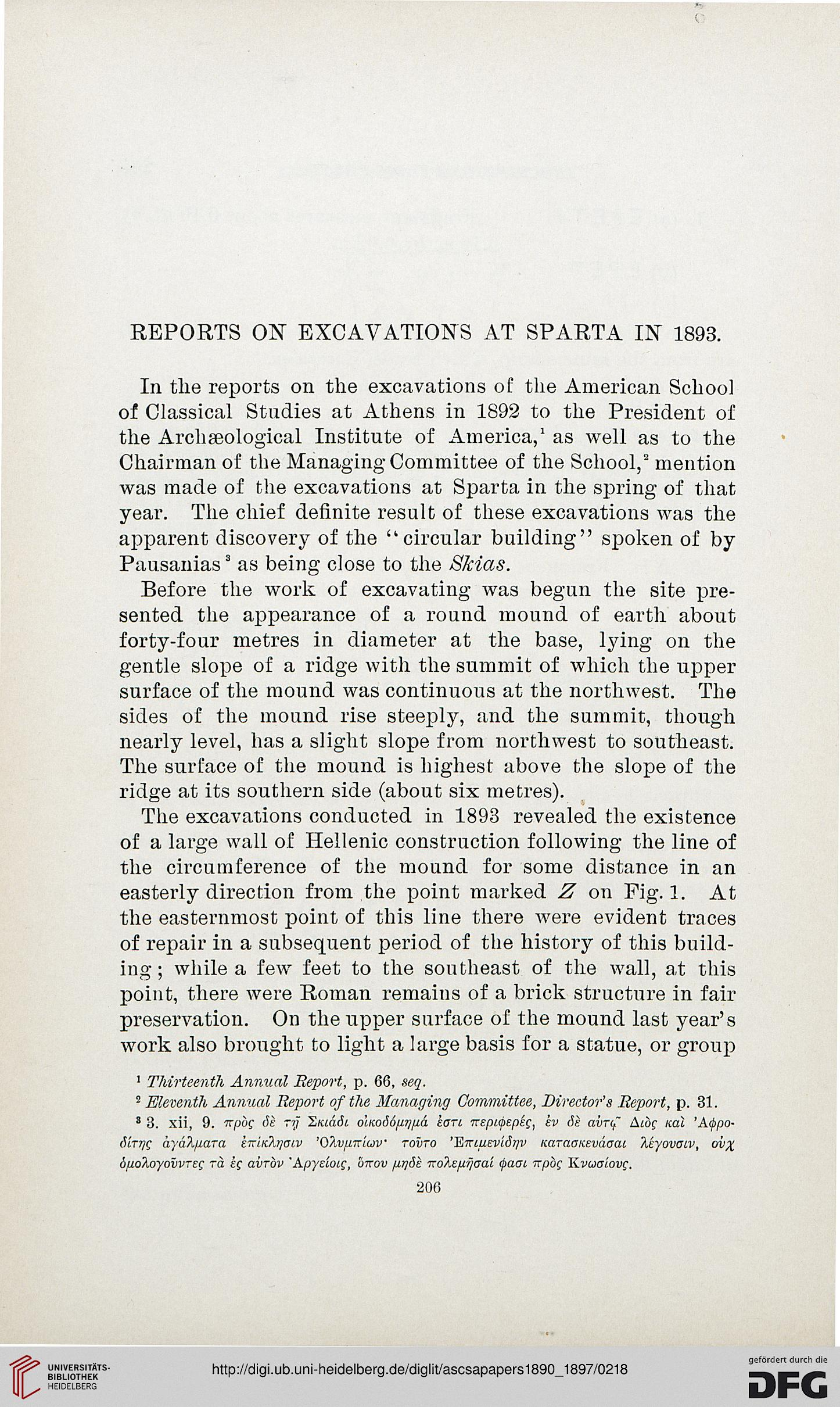 Papers of the American School of Classical Studies at Athens (6 1890