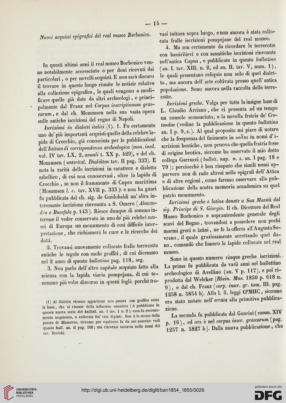 Bullettino archeologico Napoletano (N.S.3.1854-1855)