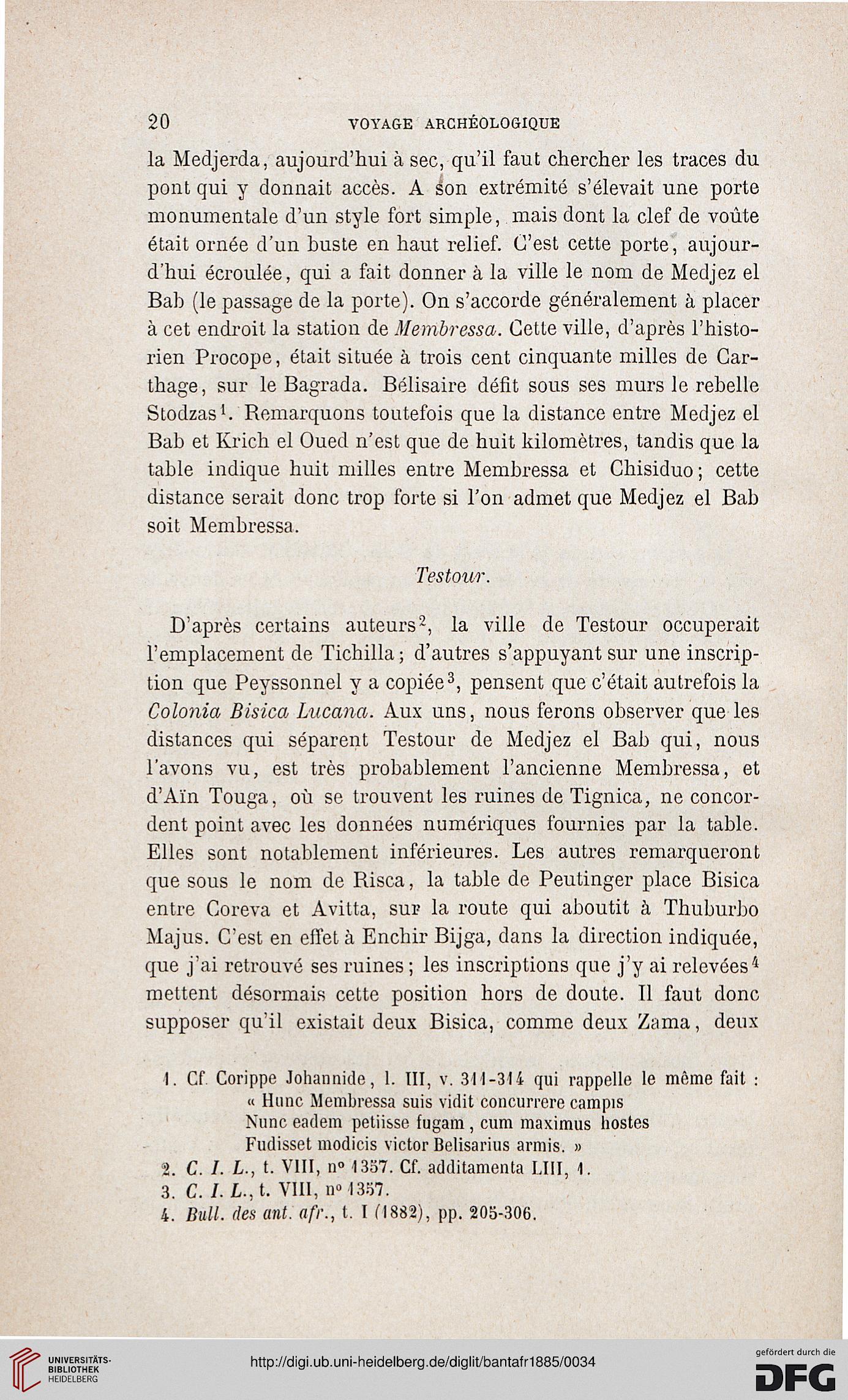 Bulletin trimestriel des antiquités africaines (3.1885)