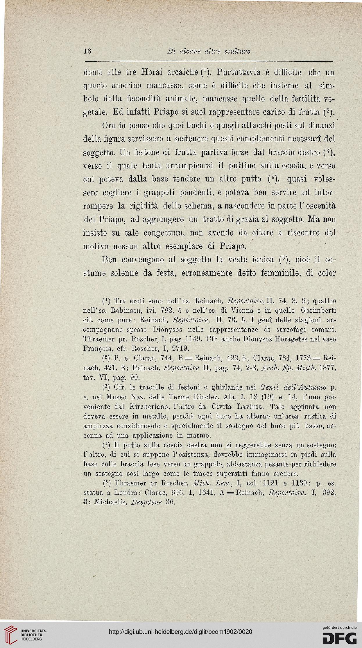 Bullettino Della Commissione Archeologica Comunale Di Roma 301902