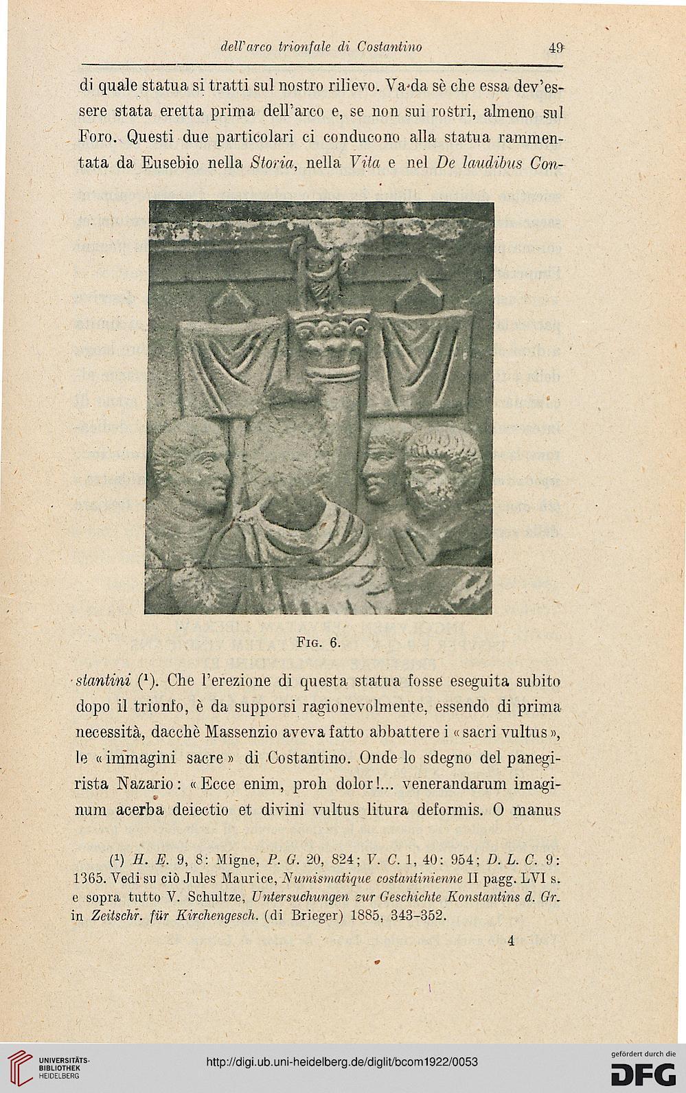 Bullettino Della Commissione Archeologica Comunale Di Roma 501922