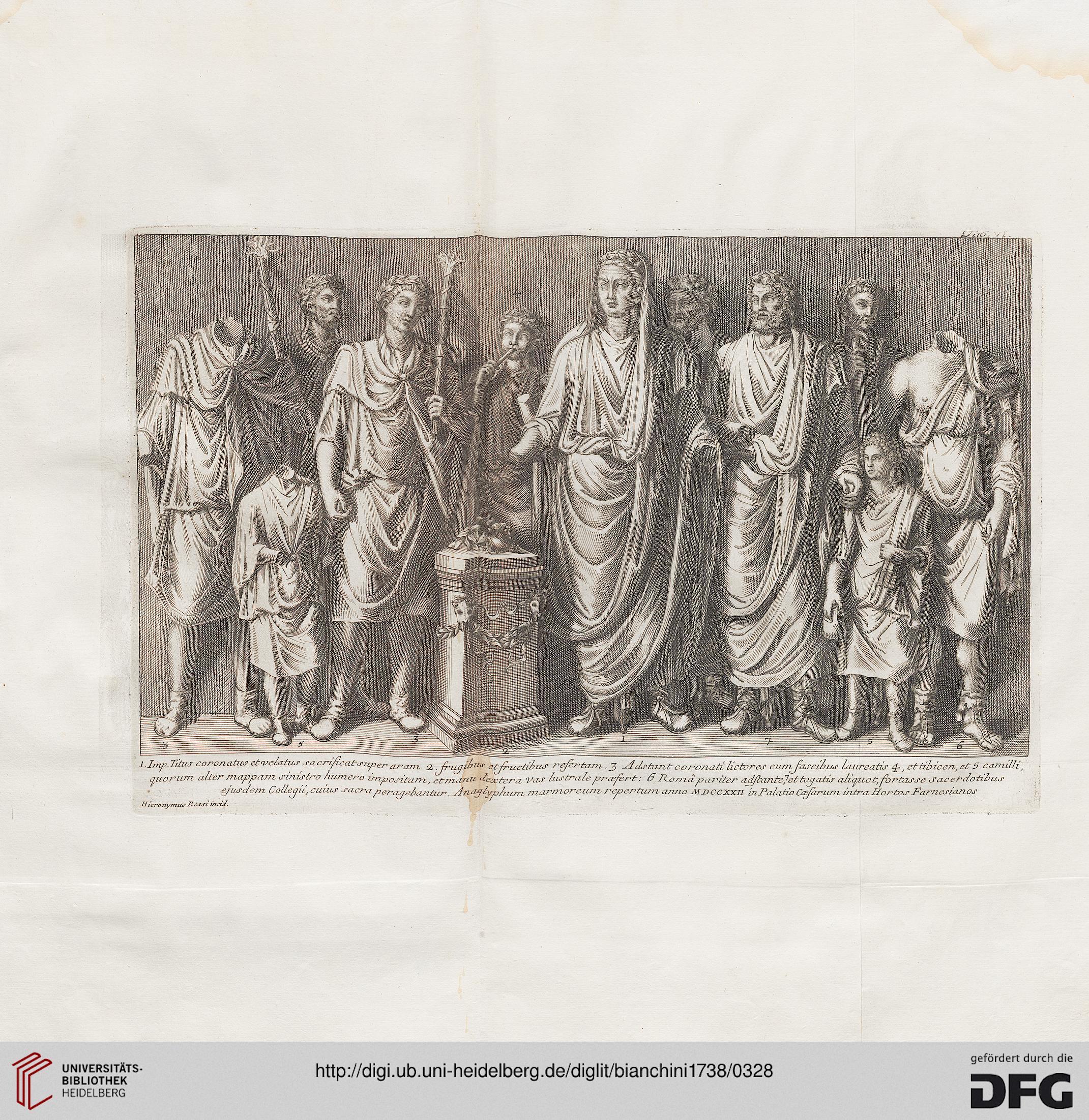 bianchini francesco del palazzo de 39 cesari opera postuma verona 1738. Black Bedroom Furniture Sets. Home Design Ideas