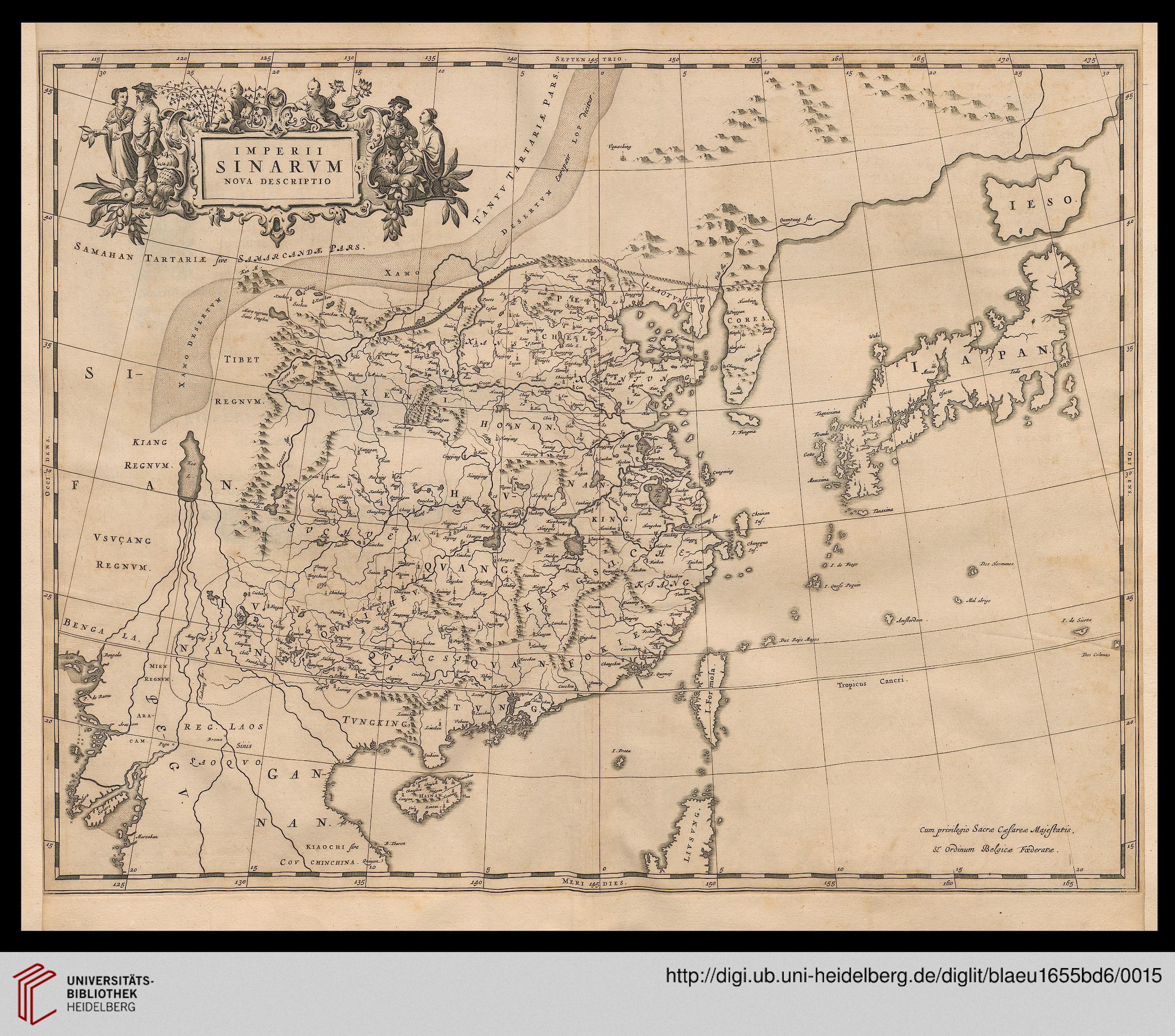 Blaeu/Martini/Goius Novvs Atlas, Das ist, Weltbeschreibung: [Amsterdam], [1655]