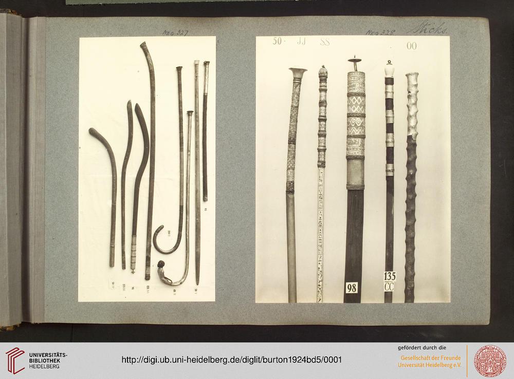 Burton, Harry: Tutankhamun tomb photographs: a photographic record