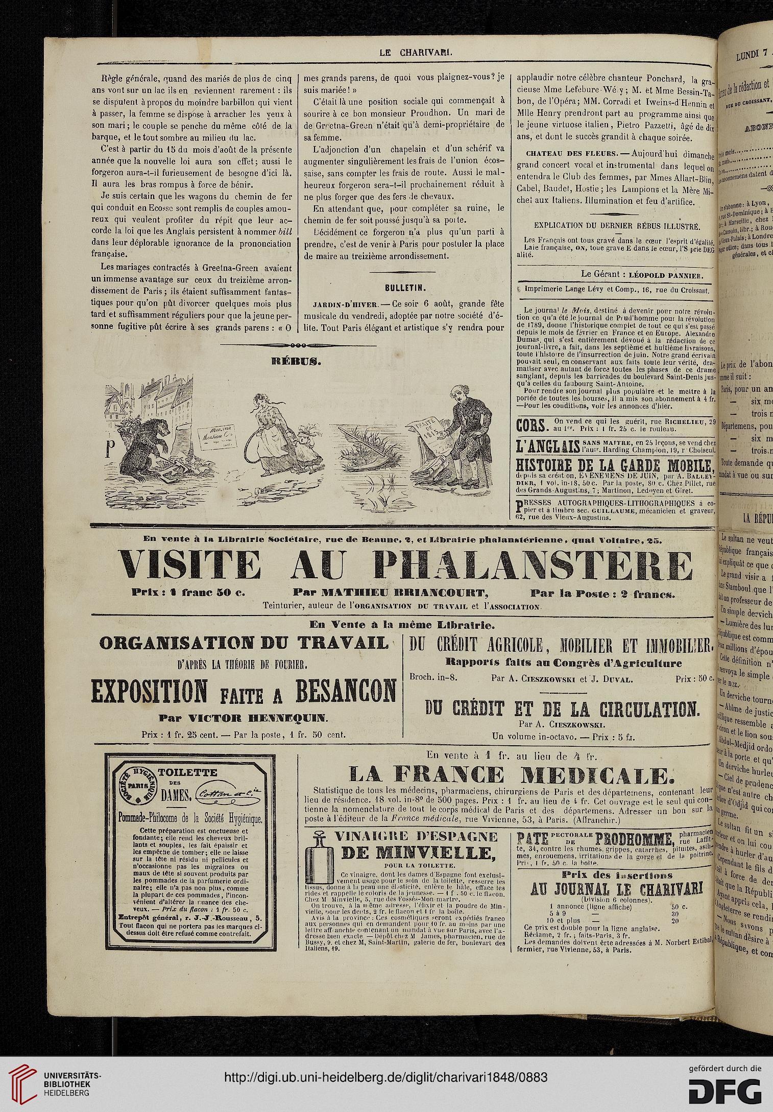Le Charivari 17 1848