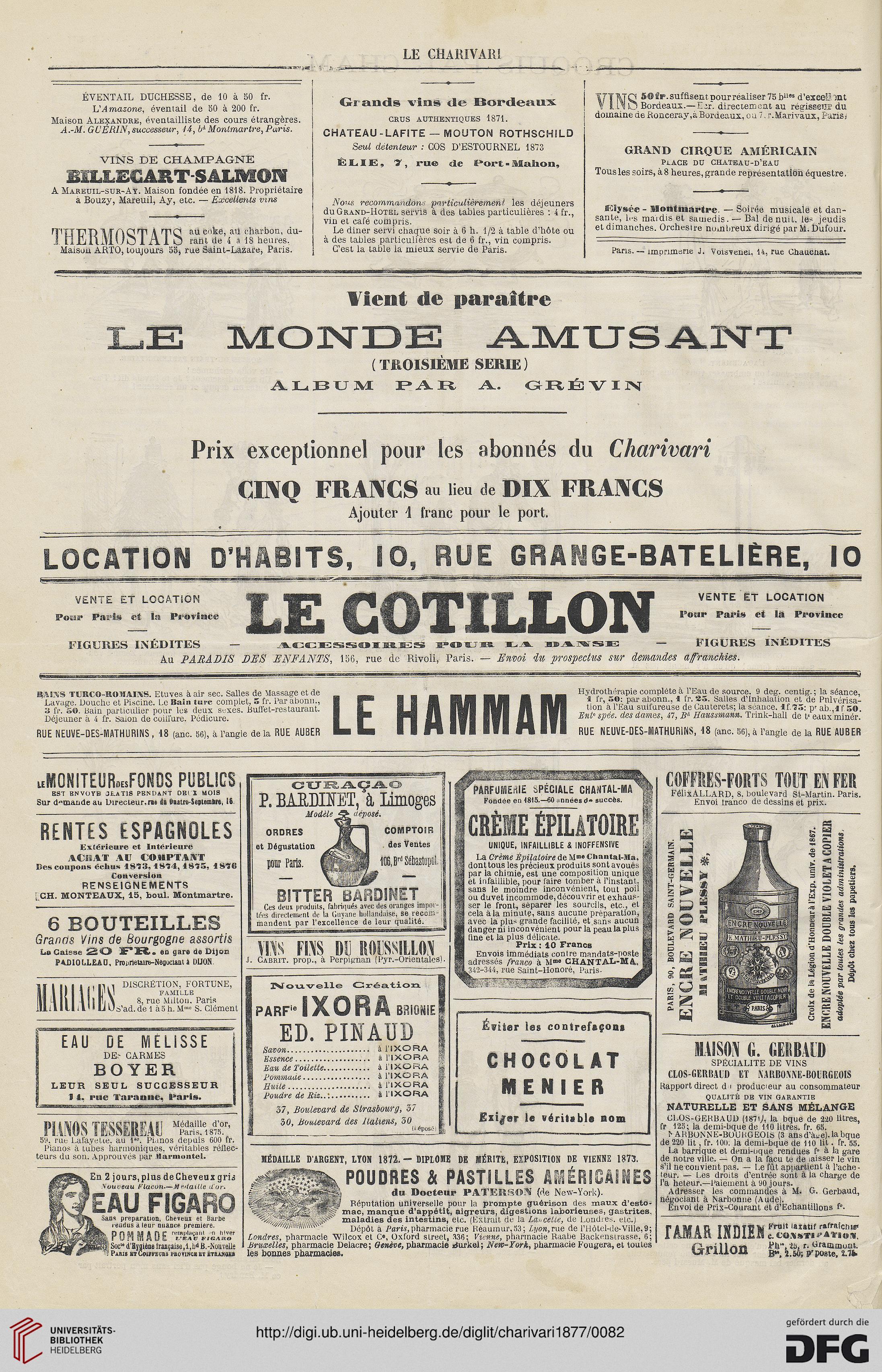 Le Charivari 46 1877
