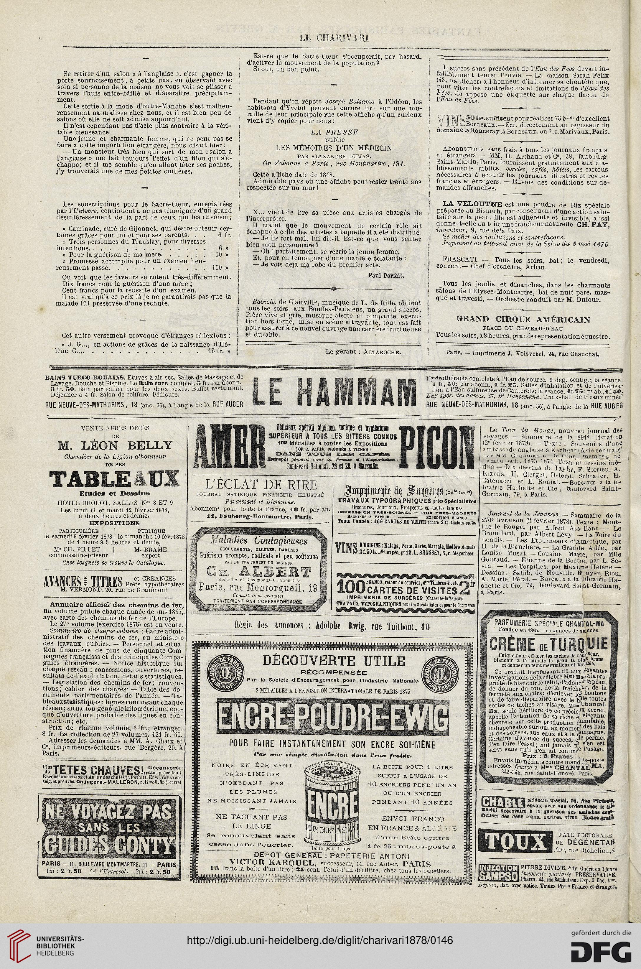Le Charivari 47 1878