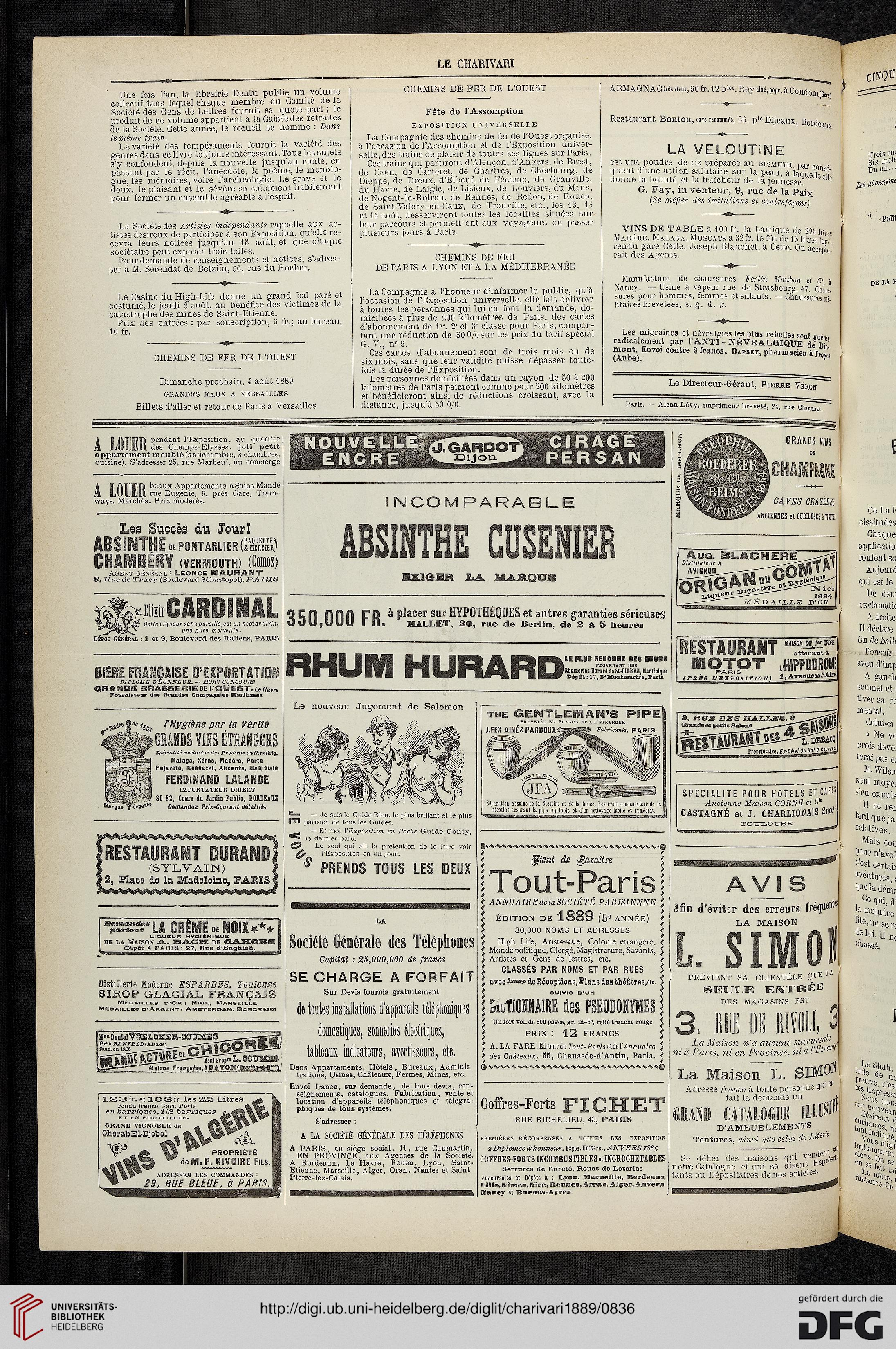 Le charivari (58.1889)