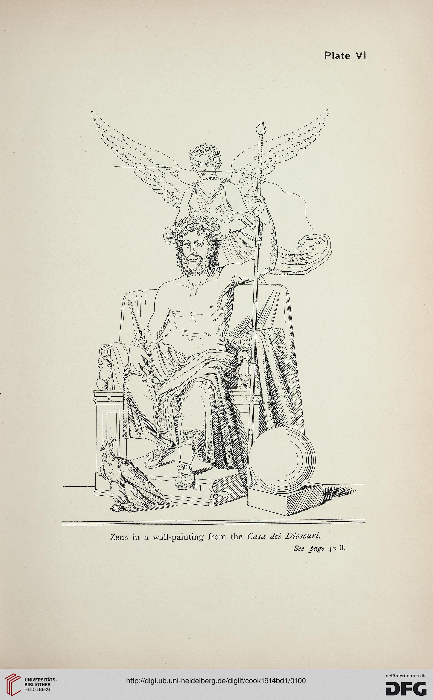 Cook, Arthur B : Zeus: a study in ancient religion (Band 1): Zeus