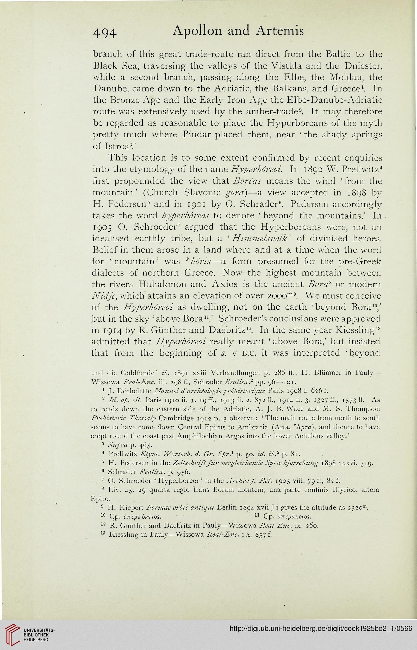 Cook, Arthur B : Zeus: a study in ancient religion (Band 2,1): Zeus
