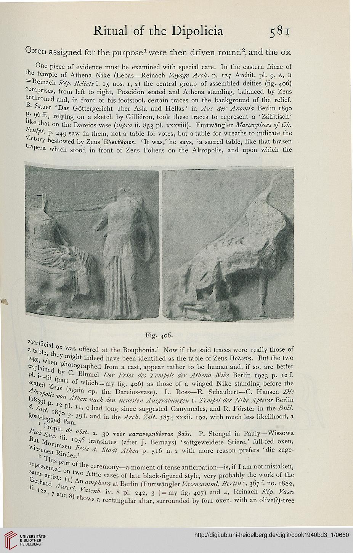 Cook, Arthur B : Zeus: a study in ancient religion (Band 3,1): Zeus