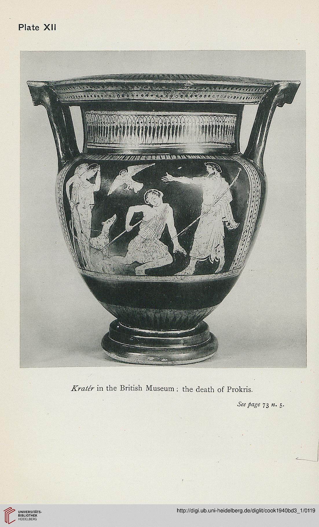 Cook, Arthur B. Zeus a study in ancient religion Band 122,12 Zeus ...