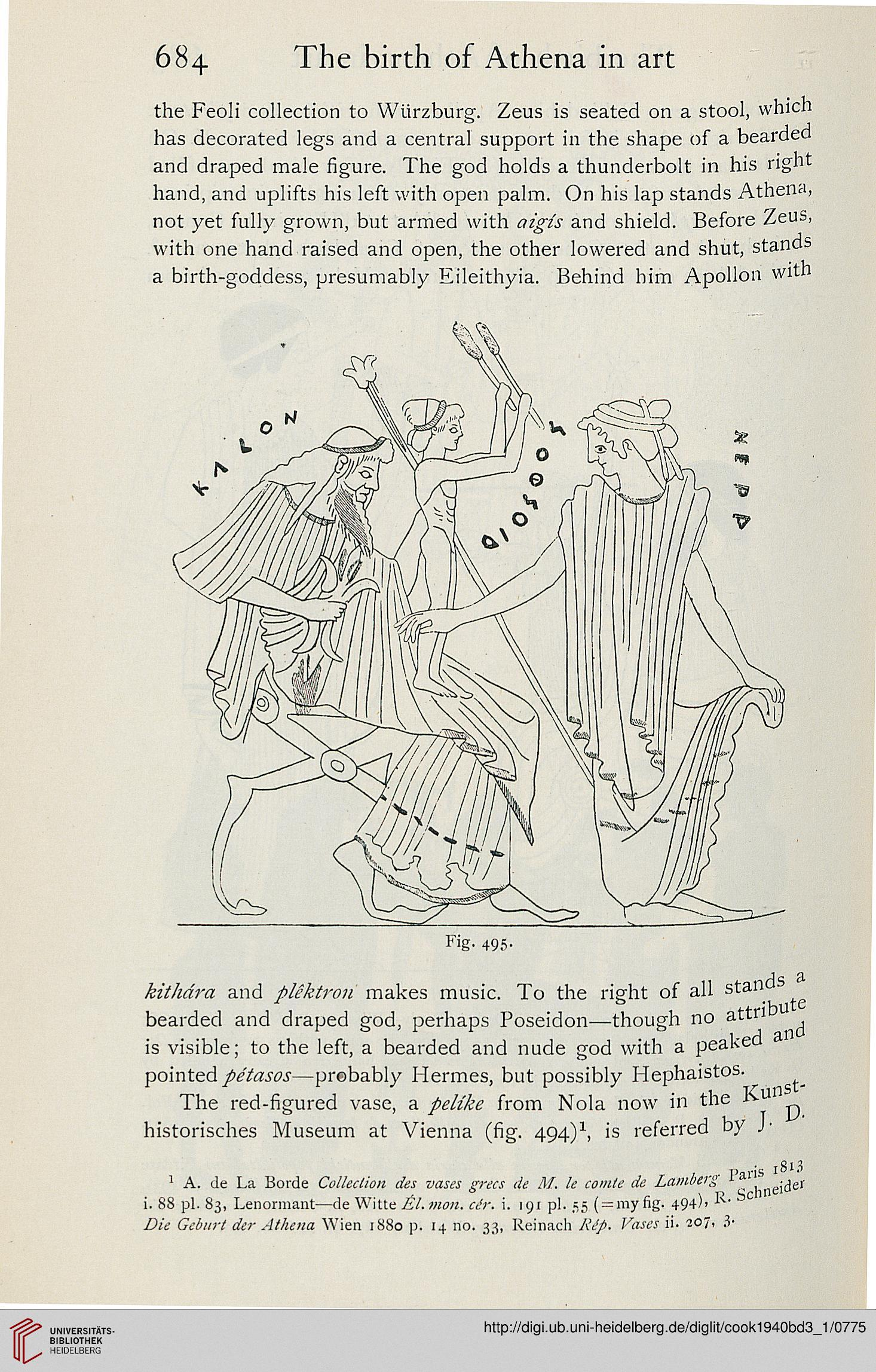 Cook Arthur B Zeus a study in ancient religion Band 3 1