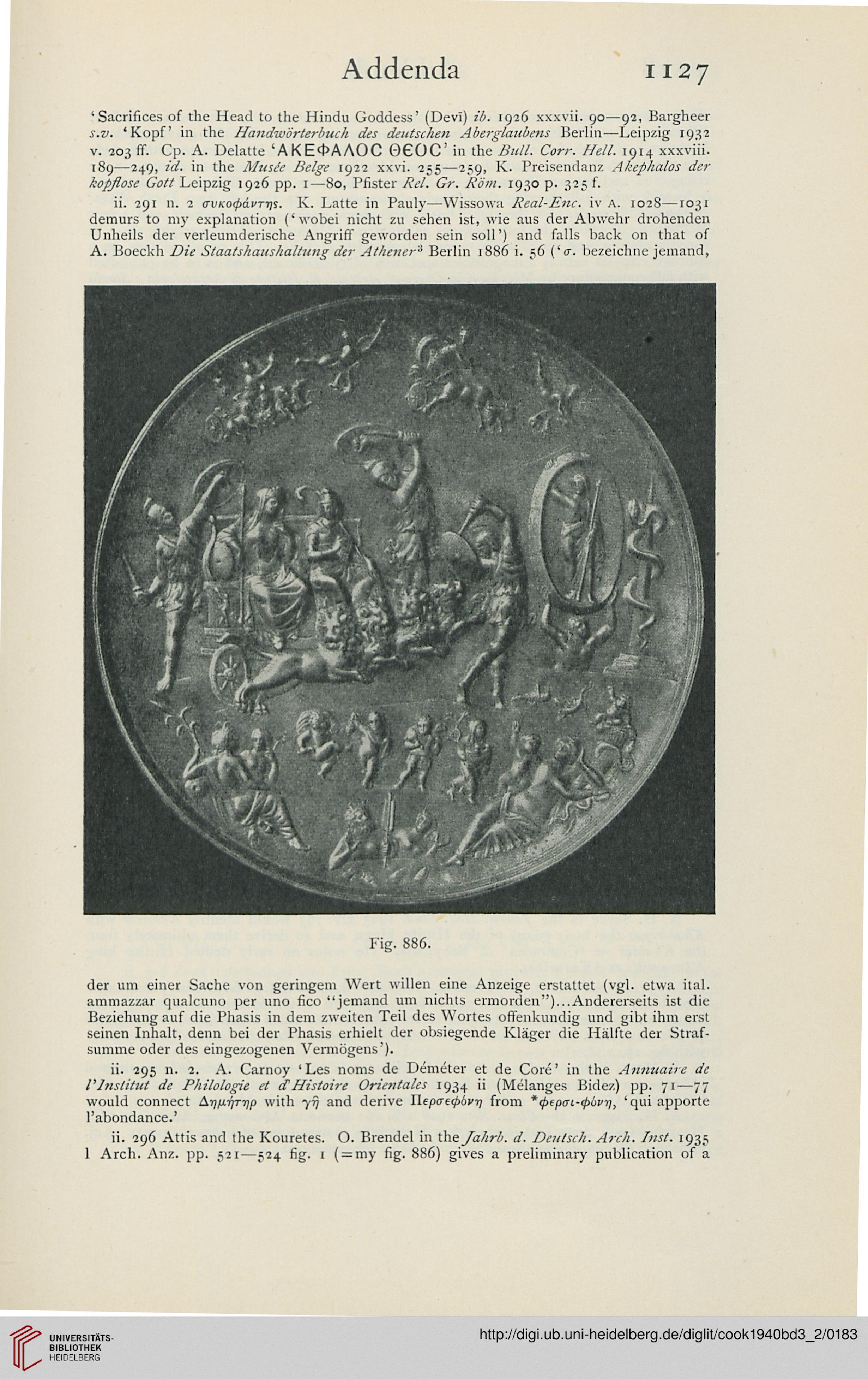 Cook, Arthur B.: Zeus: a study in ancient religion (Band 3,2): Zeus ...