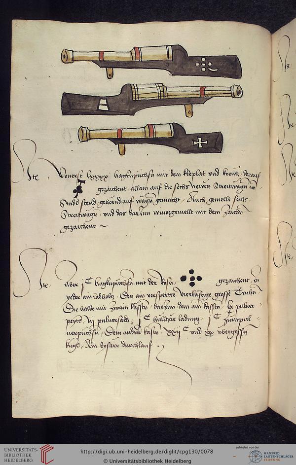 manuel d'artillerie 1485 036v