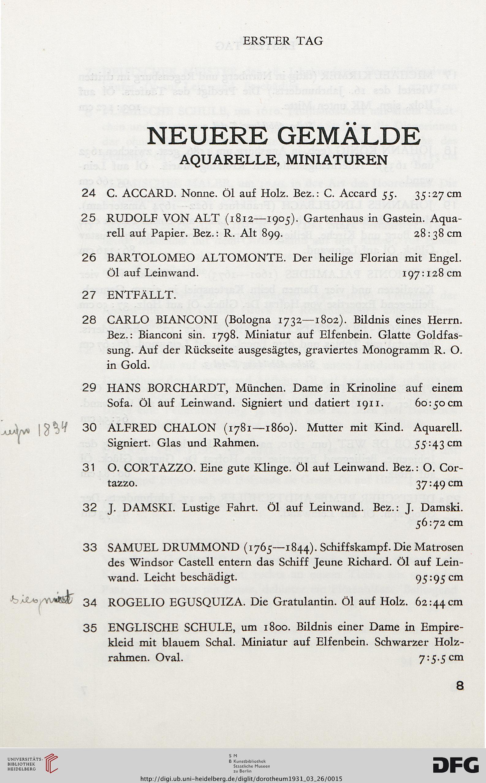 Dorotheum <Wien> [Hrsg.]: Gemälde alter und neuerer Meister ...