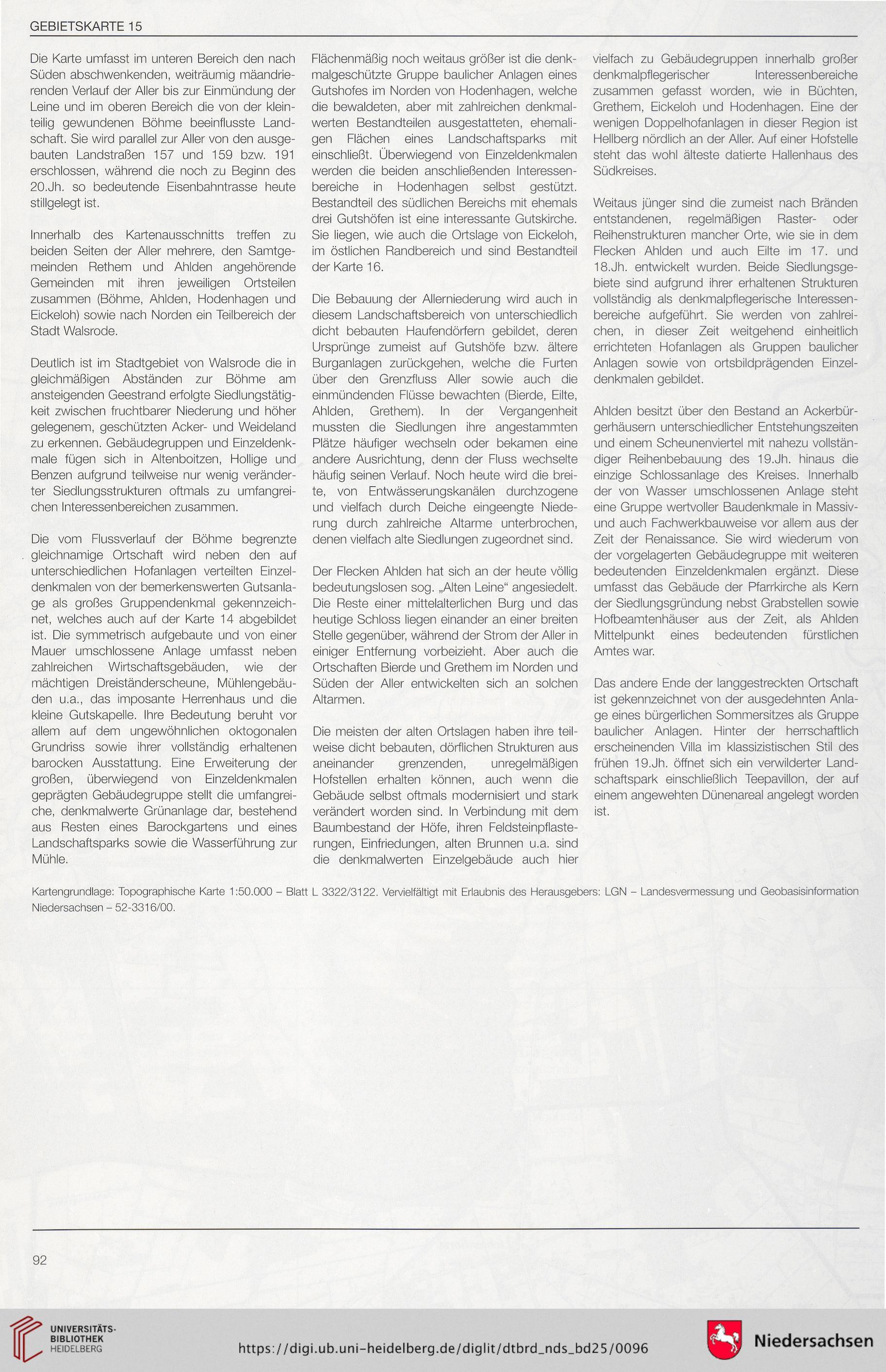 Niedersachsen Karte Pdf.Pantel Etta Hrsg Denkmaltopographie Bundesrepublik Deutschland