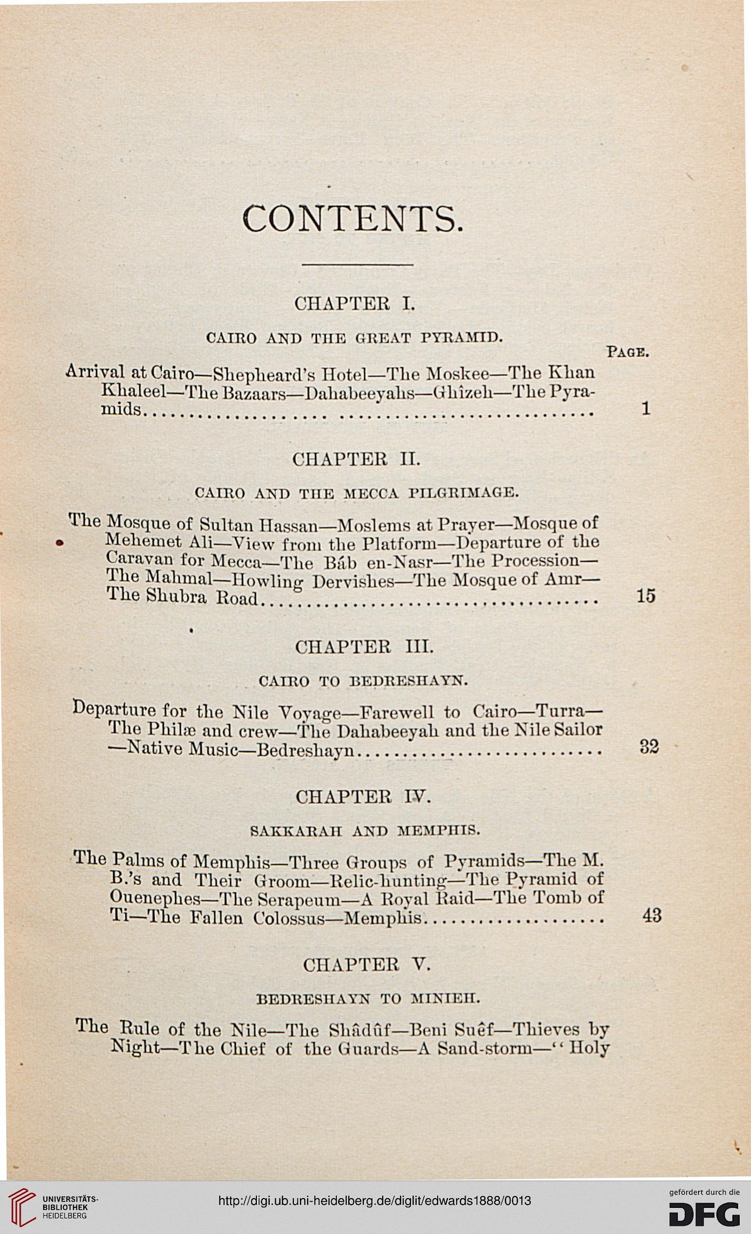 Edwards, Amelia B : A thousand miles up the Nile (New York