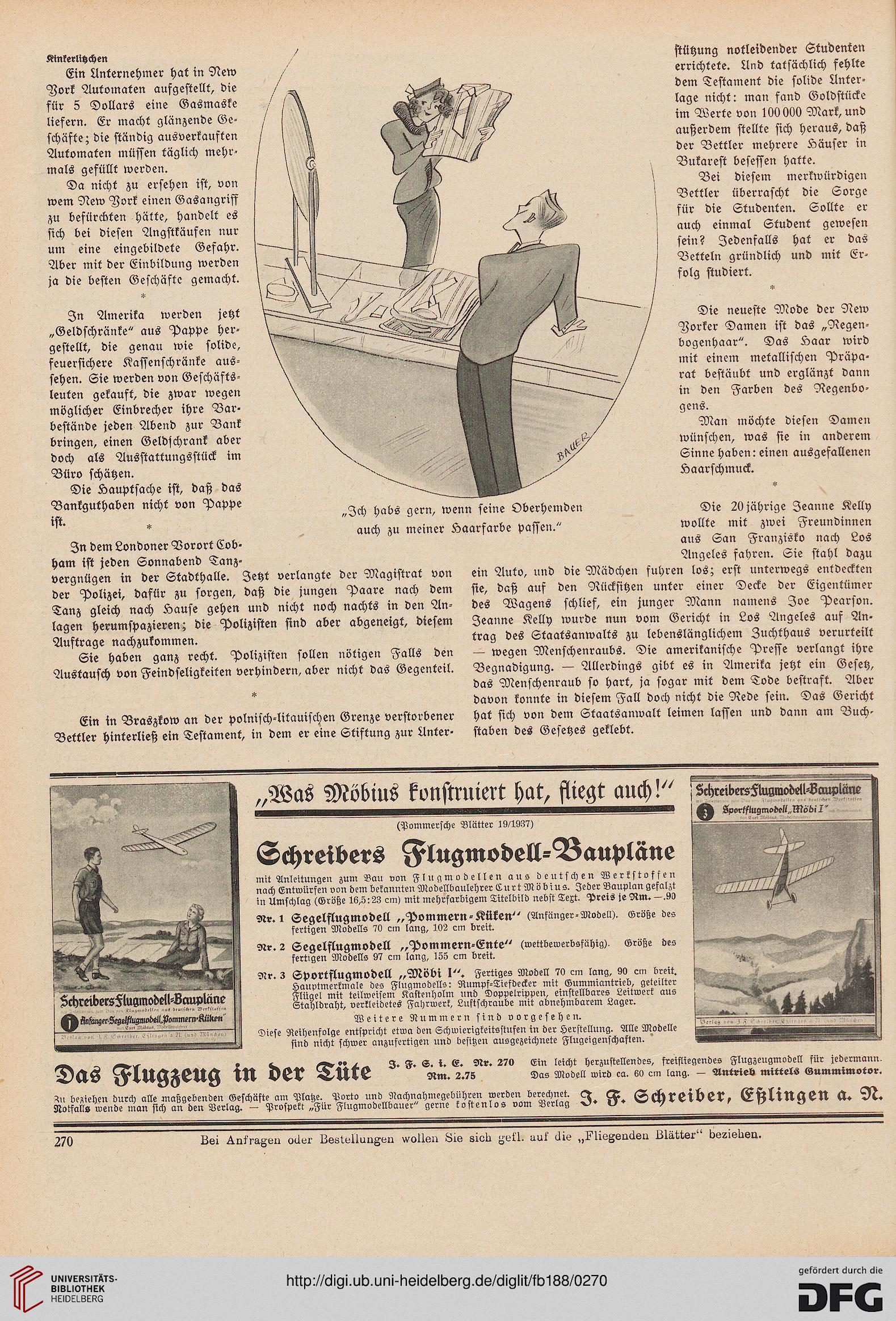 Fliegende Blätter (188.1938 (Nr. 4823-4848) = 94. Jahrg.)