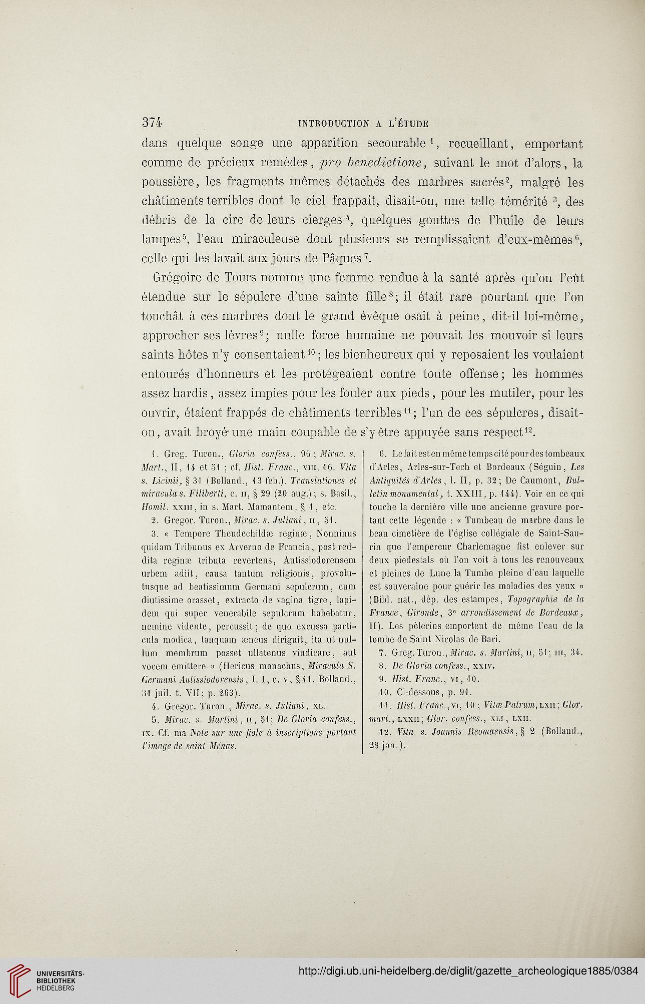 Gazette archéologique: revue des Musées Nationaux (10.1885)