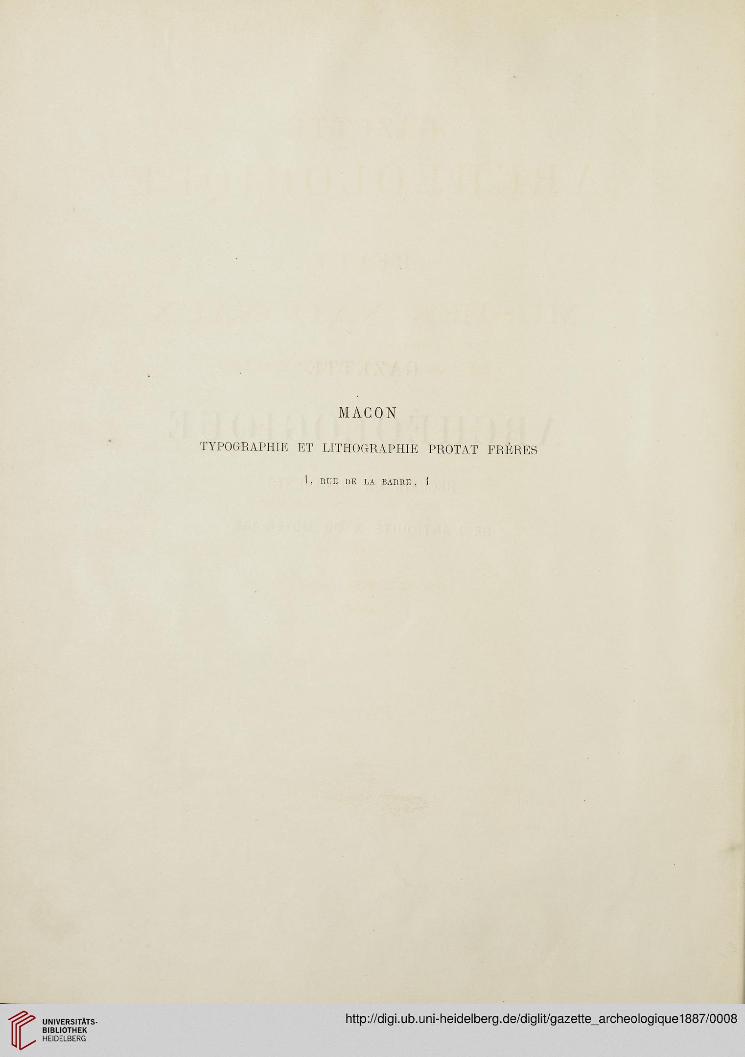 Gazette archéologique: revue des Musées Nationaux (12.1887)