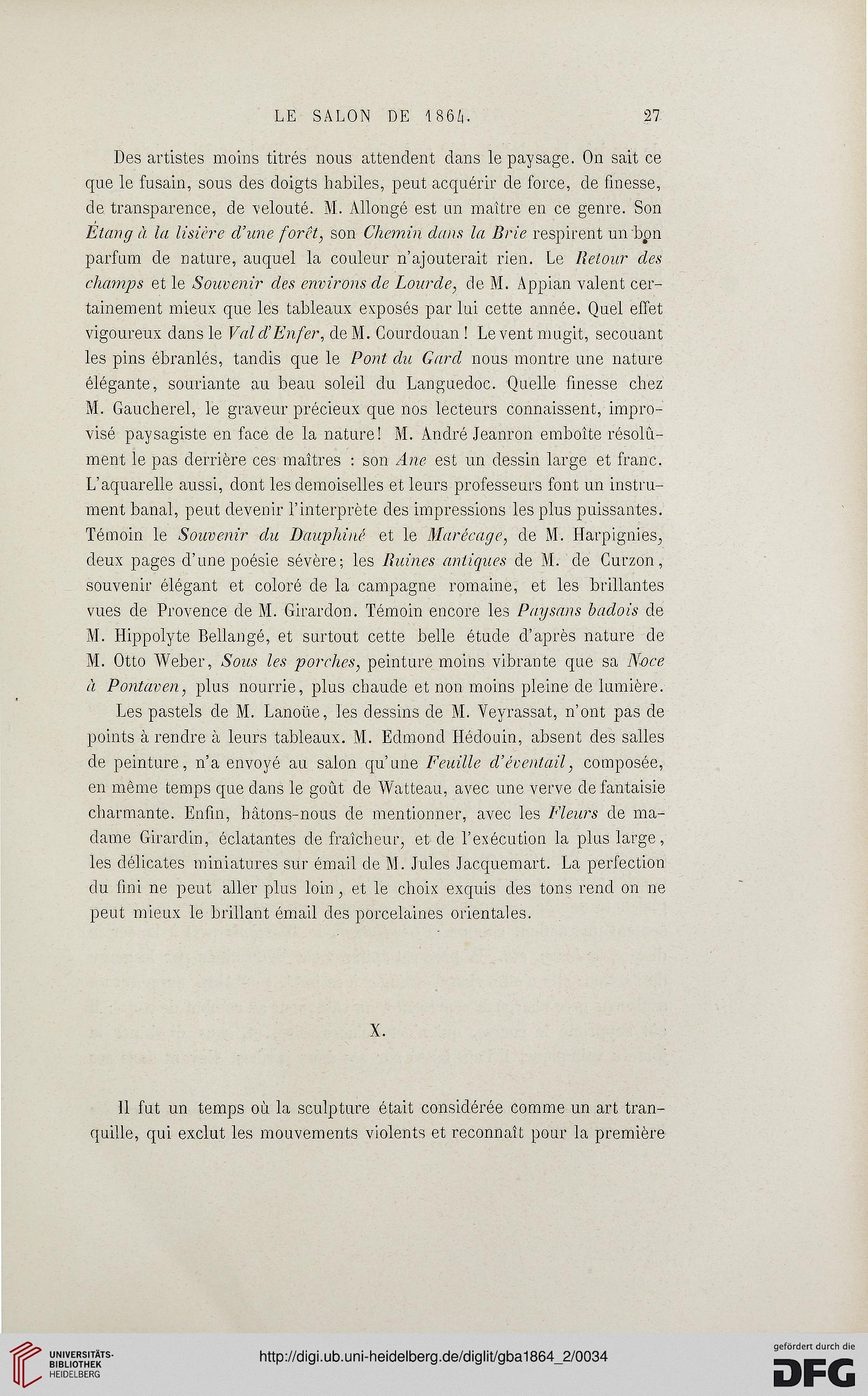 Gazette des beaux-arts: la doyenne des revues d\'art (17.1864)