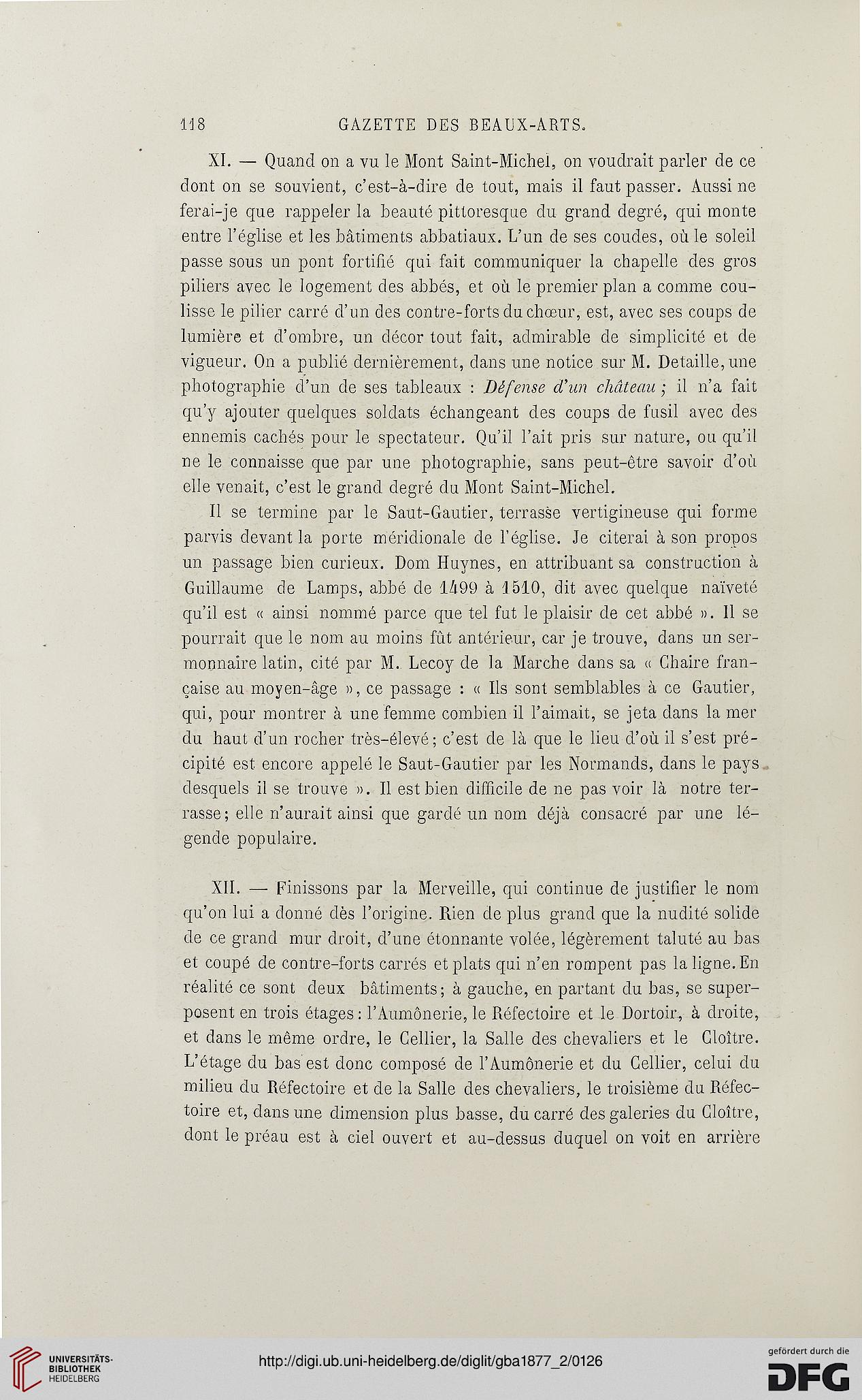 Gazette Des Beaux Arts La Doyenne Revues Dart 2Per 161877