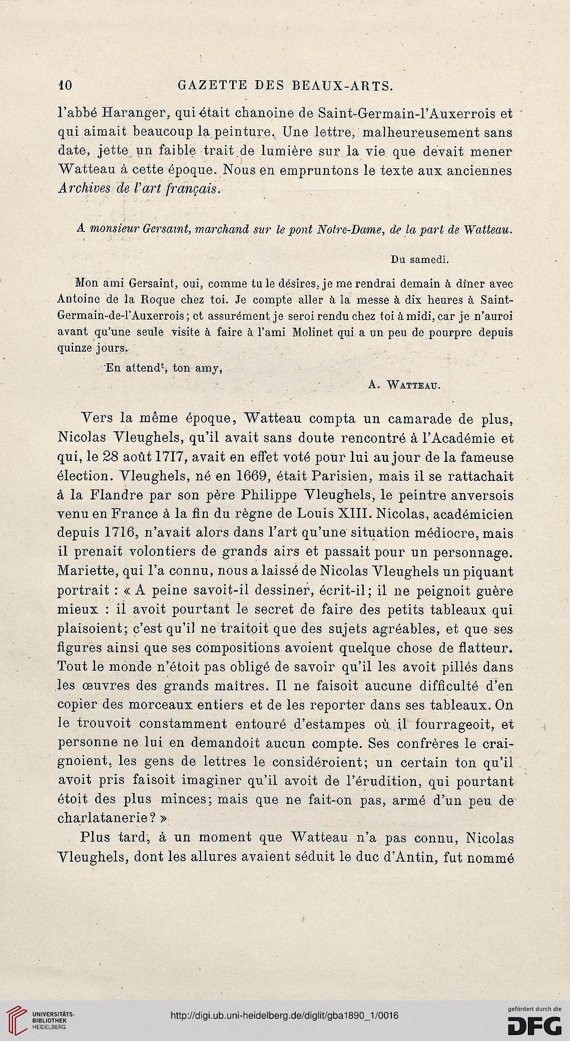 Gazette Des Beaux Arts La Doyenne Revues Dart 3 Per 31890