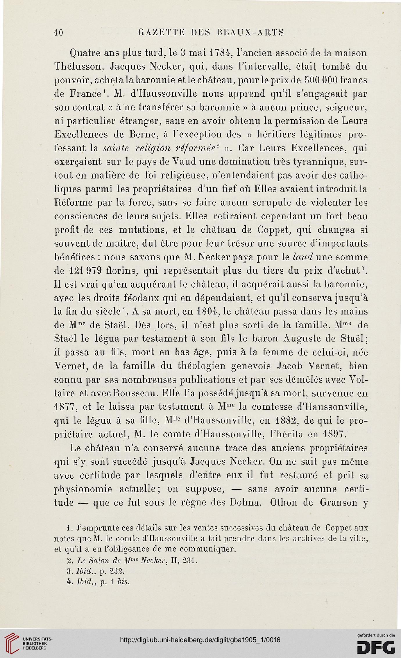 Gazette des beaux-arts: la doyenne des revues d\'art (3. Pér. 33.1905)