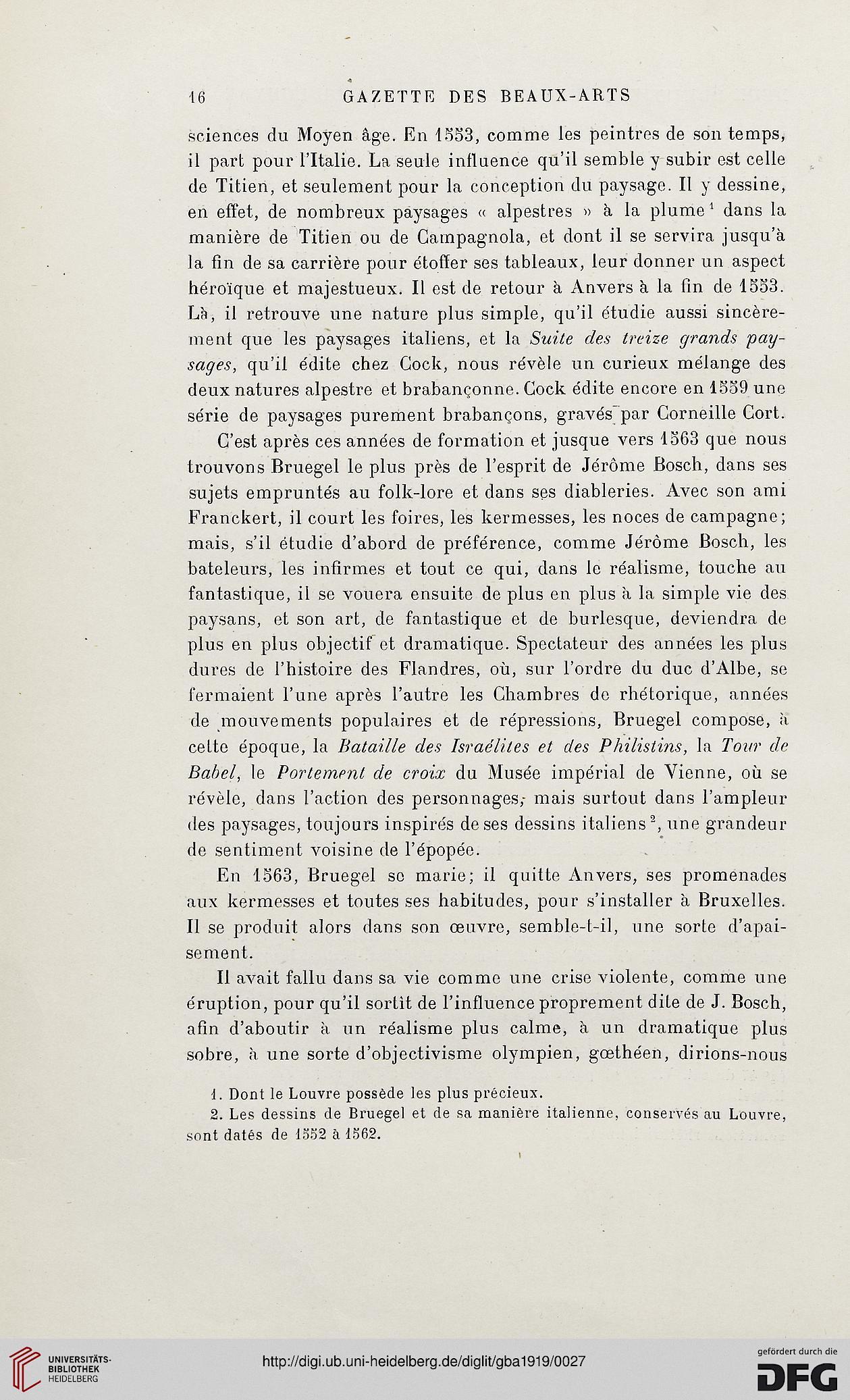 Gazette Des Beaux Arts La Doyenne Revues Dart 4 Per 151919