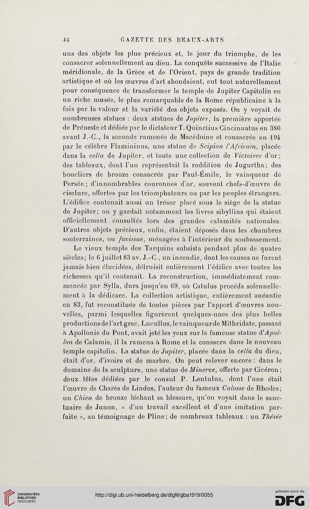 D'art4Pér15 1919 Gazette Revues Beaux Doyenne Des ArtsLa deCBxo
