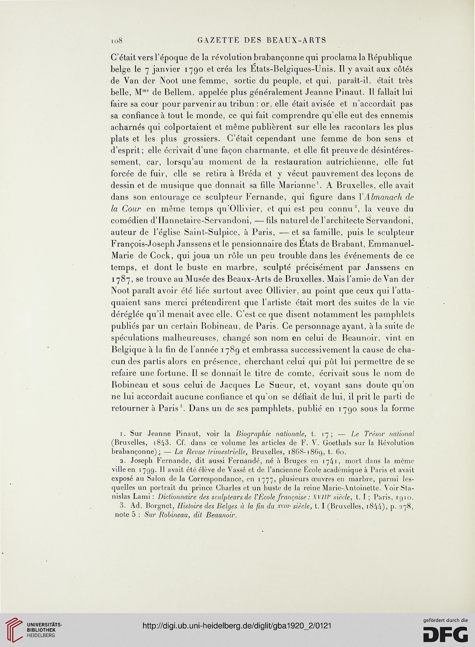 Gazette des beaux-arts: la doyenne des revues d\'art (5. Pér ...