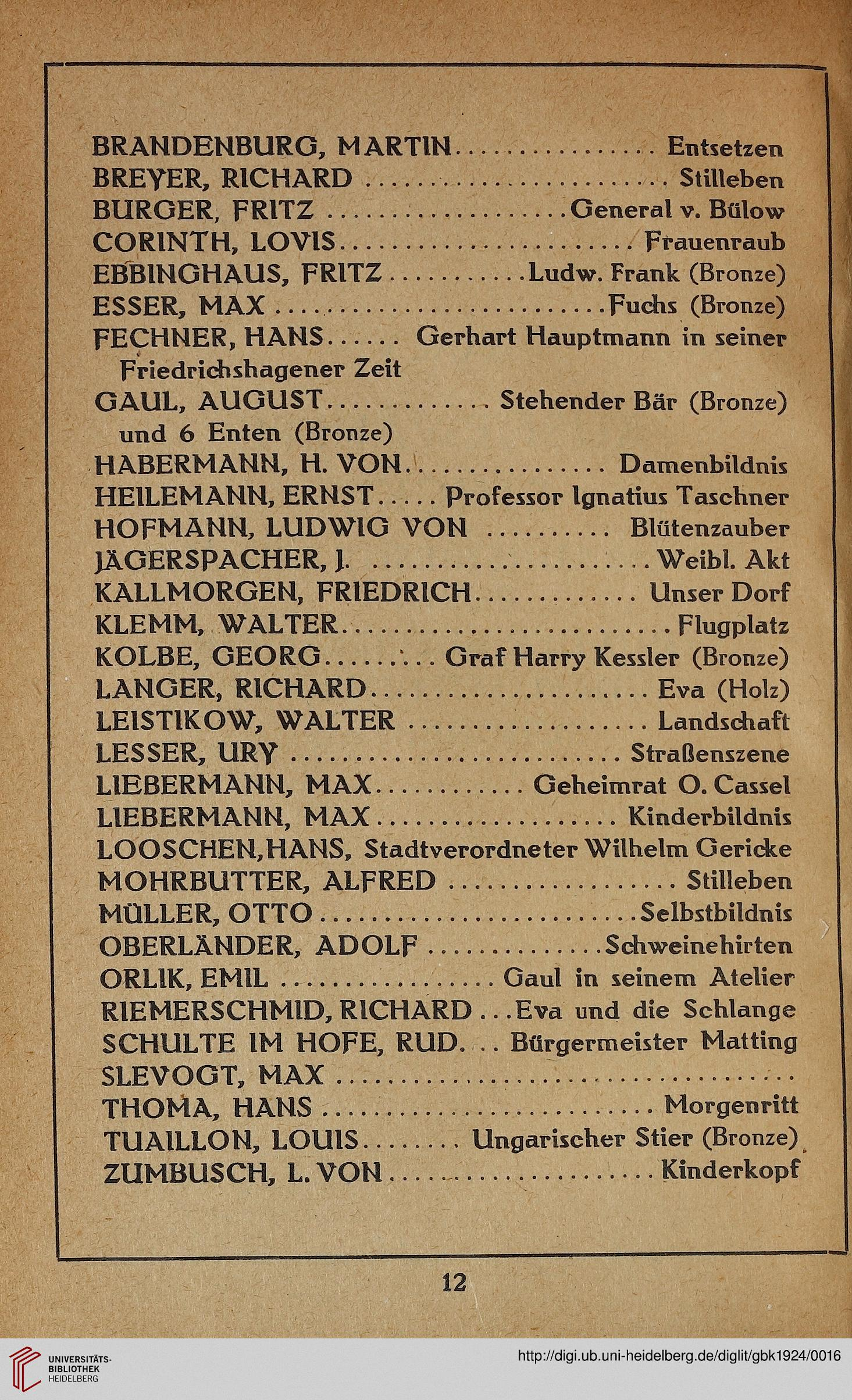 grosse berliner kunstausstellung hrsg katalog berlin 1924. Black Bedroom Furniture Sets. Home Design Ideas