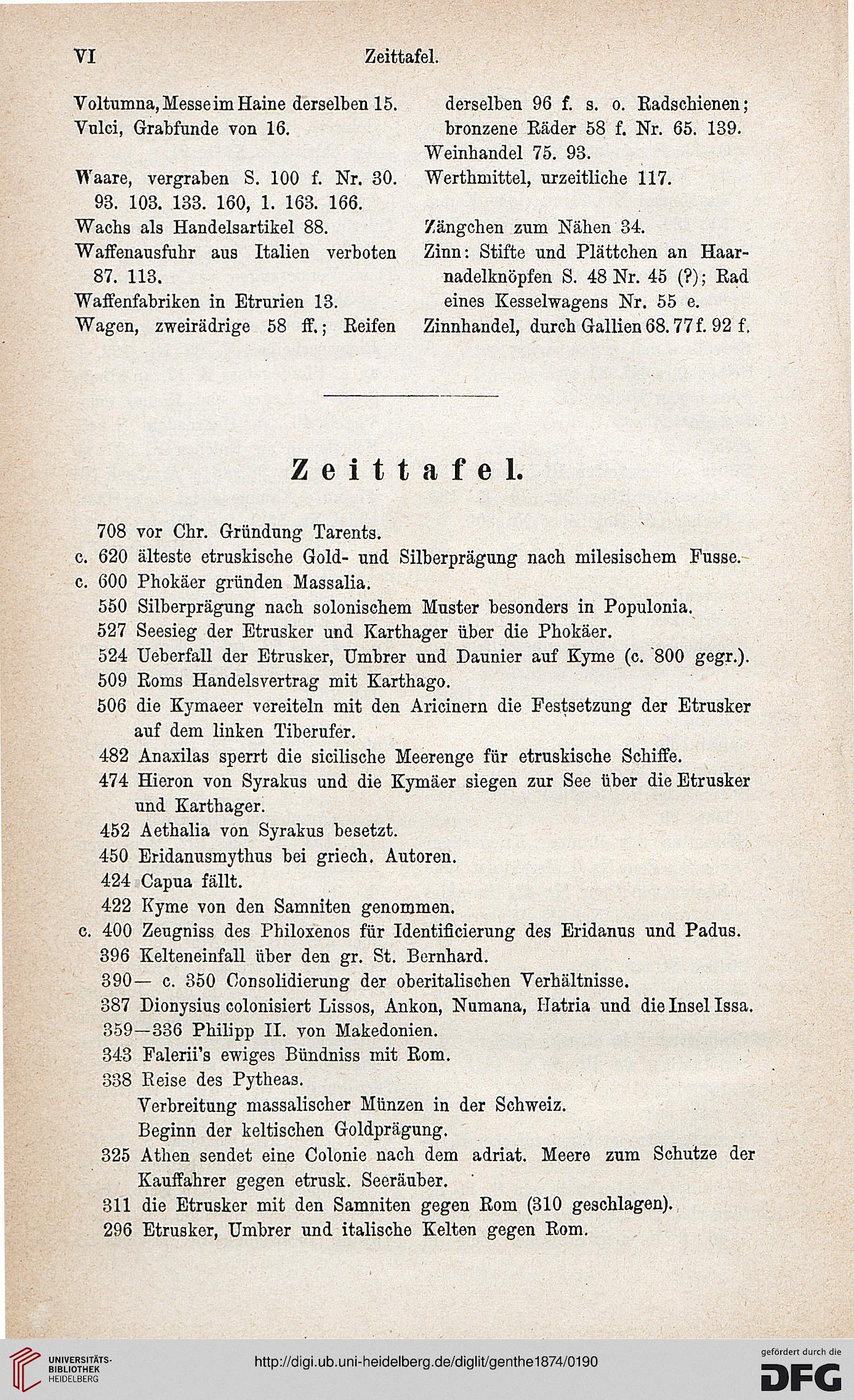 Genthe Hermann Ueber Den Etruskischen Tauschhandel Nach Dem Norden