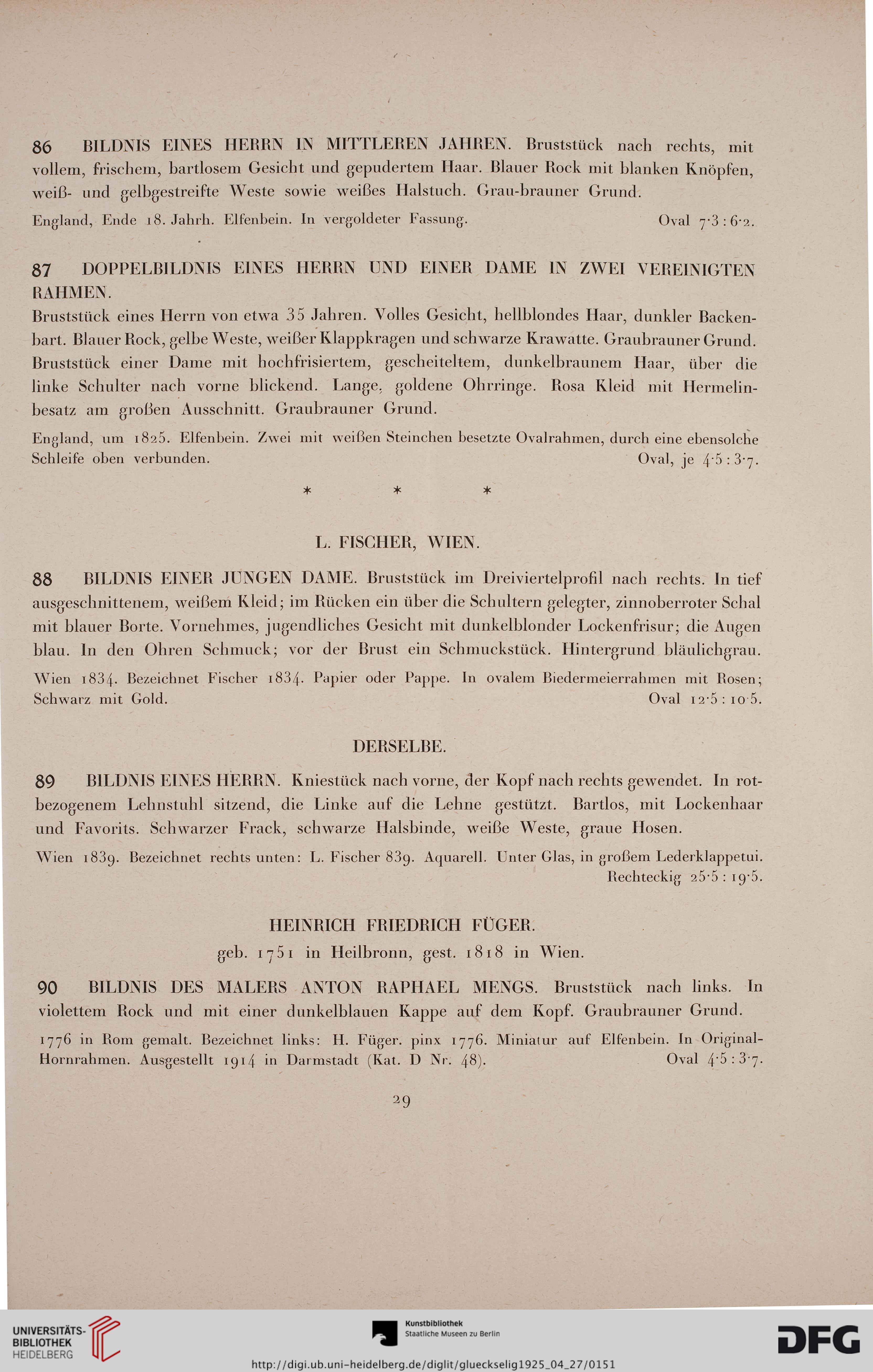 Auktionshaus Fur Altertumer Gluckselig Wien Hrsg Sammlung Kommerzienrat Jacques Muhsam Berlin Porzellan April 1925 Versteigerung Montag 27 April Bis Inklusive Donnerstag 30 April Wien 1925