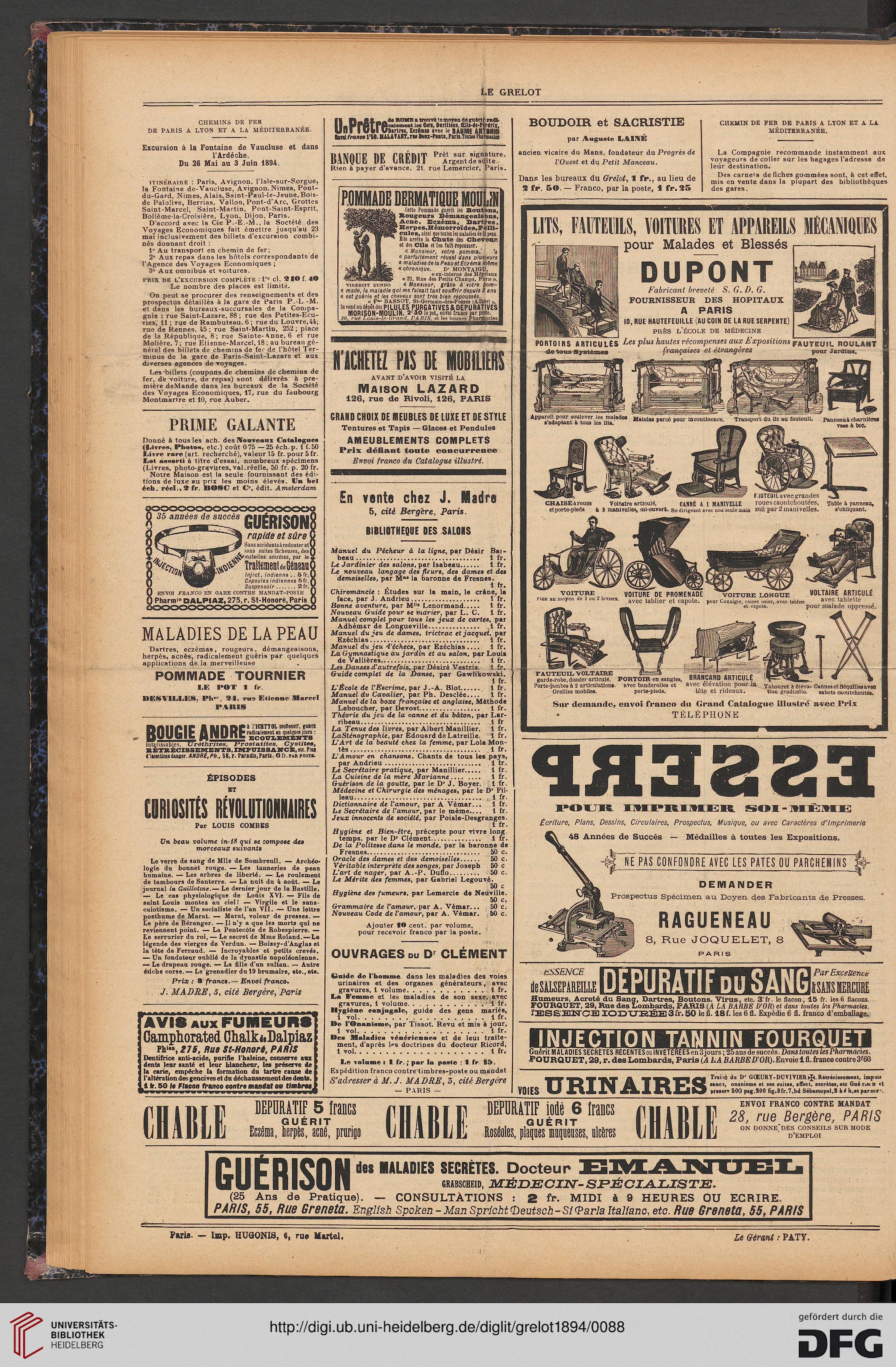 Le Grelot: journal illustré, politique et satirique (24.1894)