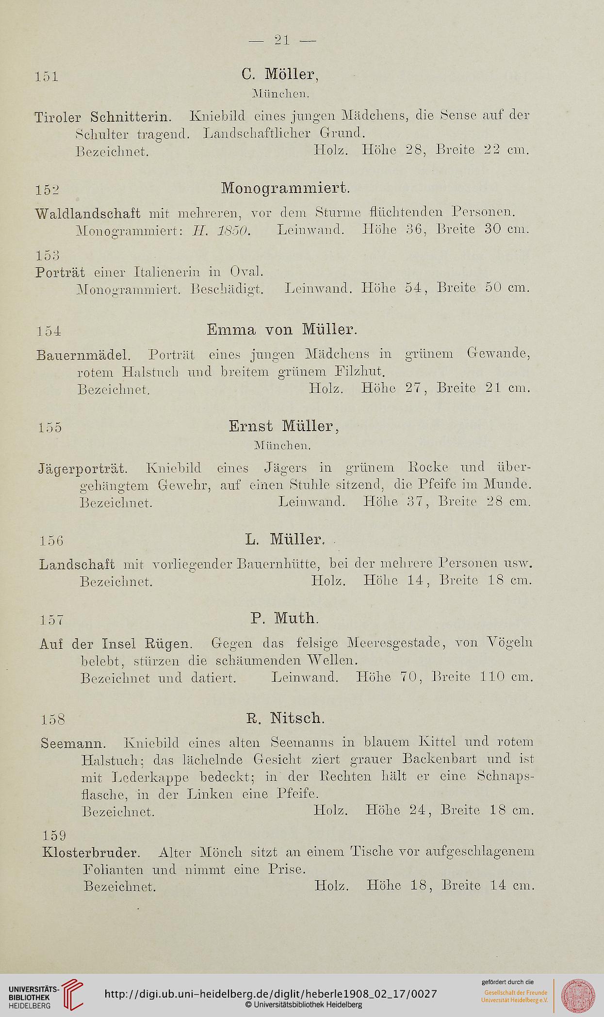 J M Heberle H Lempertz Söhne Hrsg Katalog Gemälde älterer