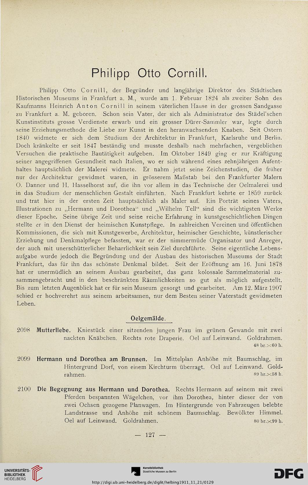 Hugo Helbing <München> [Hrsg.]: Bedeutende Francofurtensien-Sammlung ...