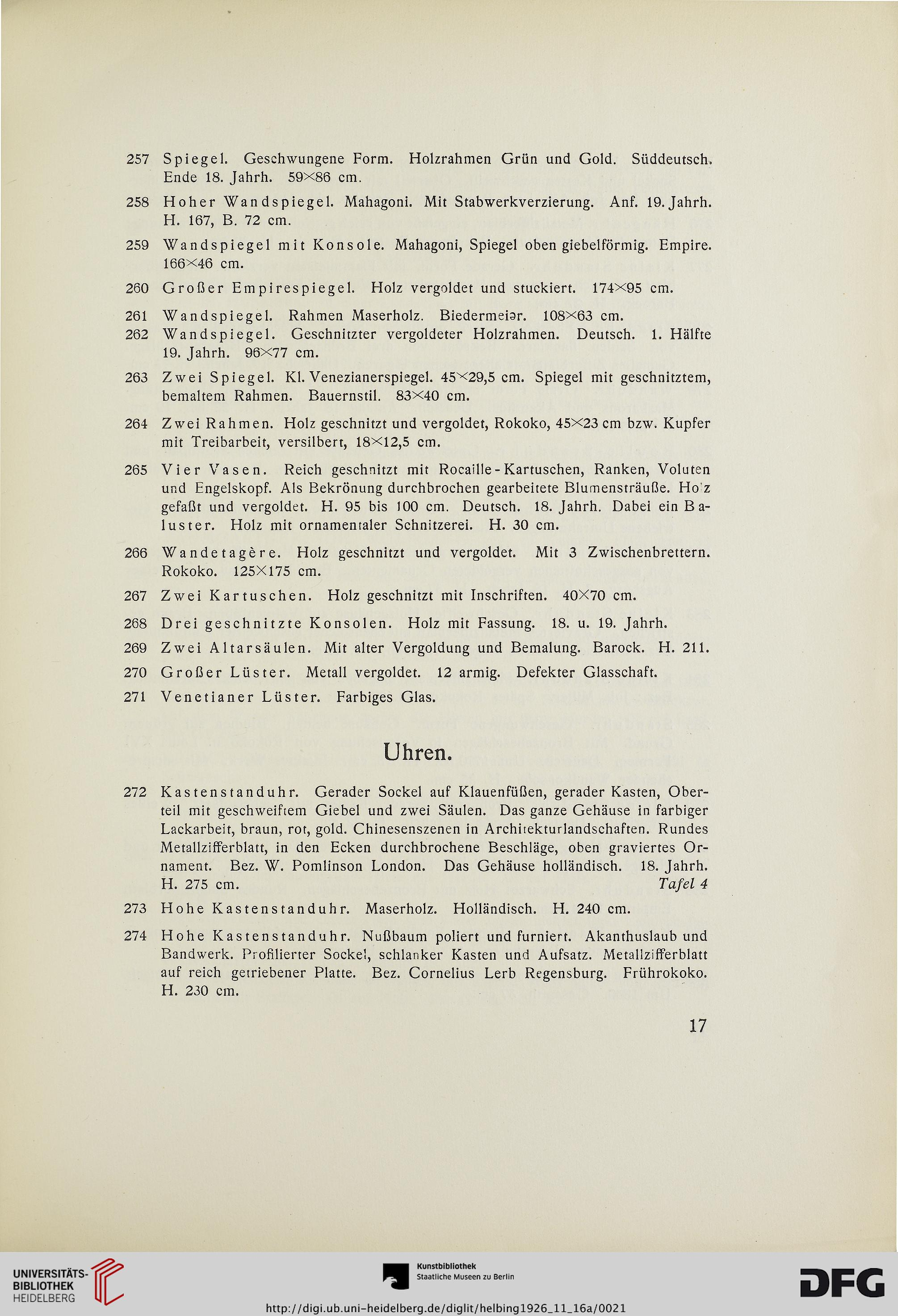 Hugo Helbing <München> [Hrsg.]: Antiquitäten, Keramik, Uhren, Möbel ...