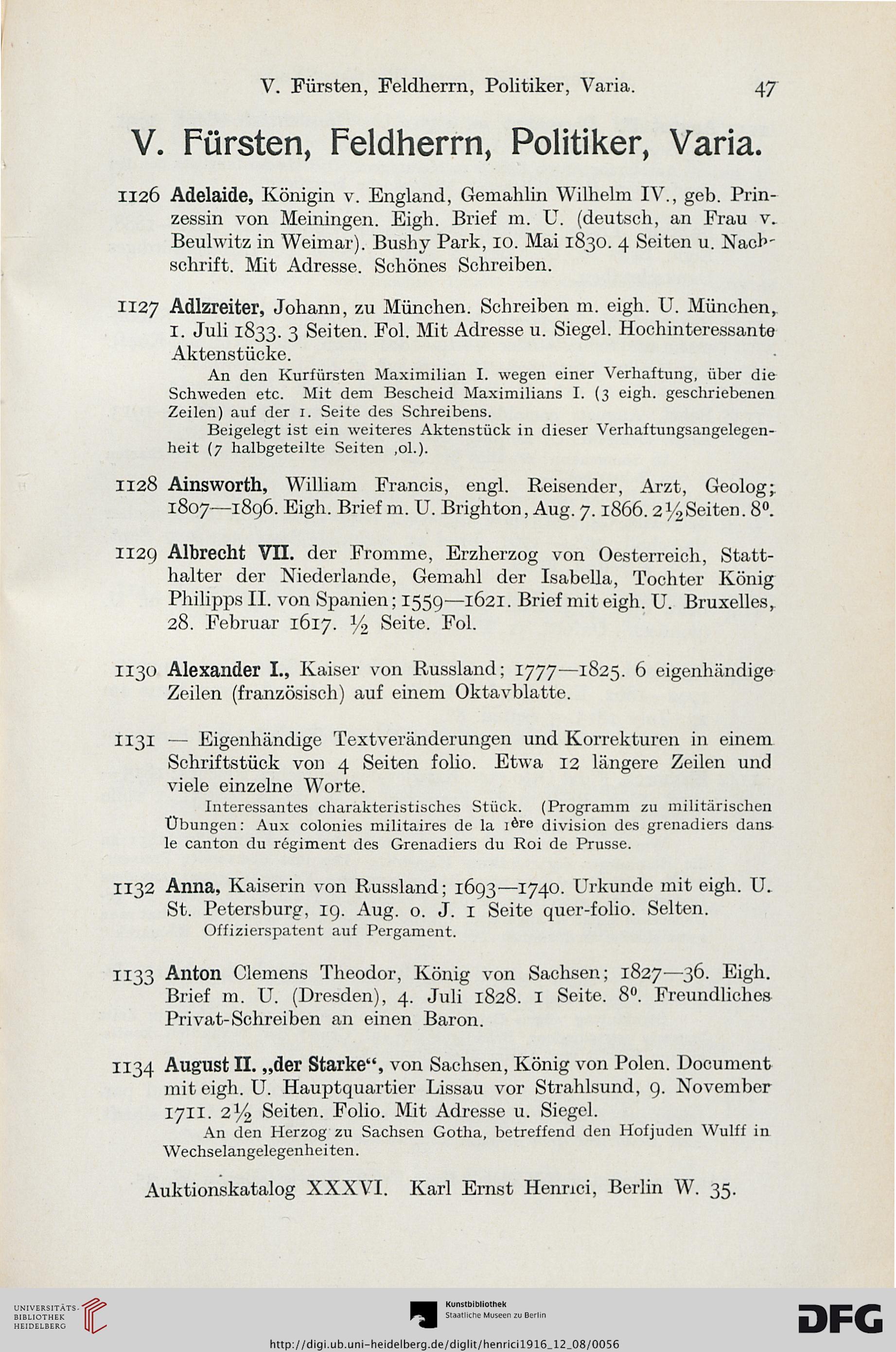 Karl Ernst Henrici Berlin Hrsg Autographen Musik Und Theater