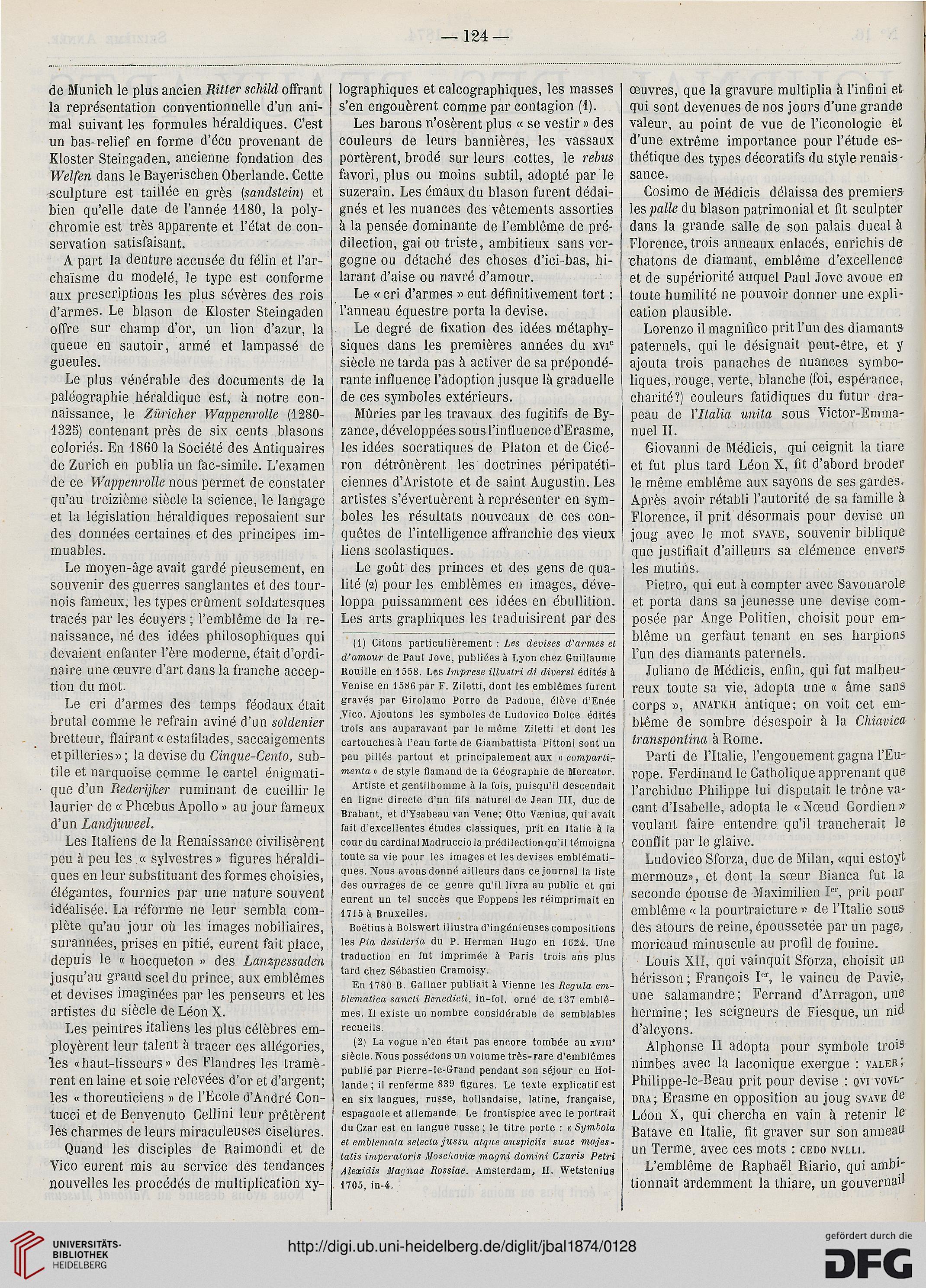 Journal Des Beaux Arts Et De La Litterature 161874