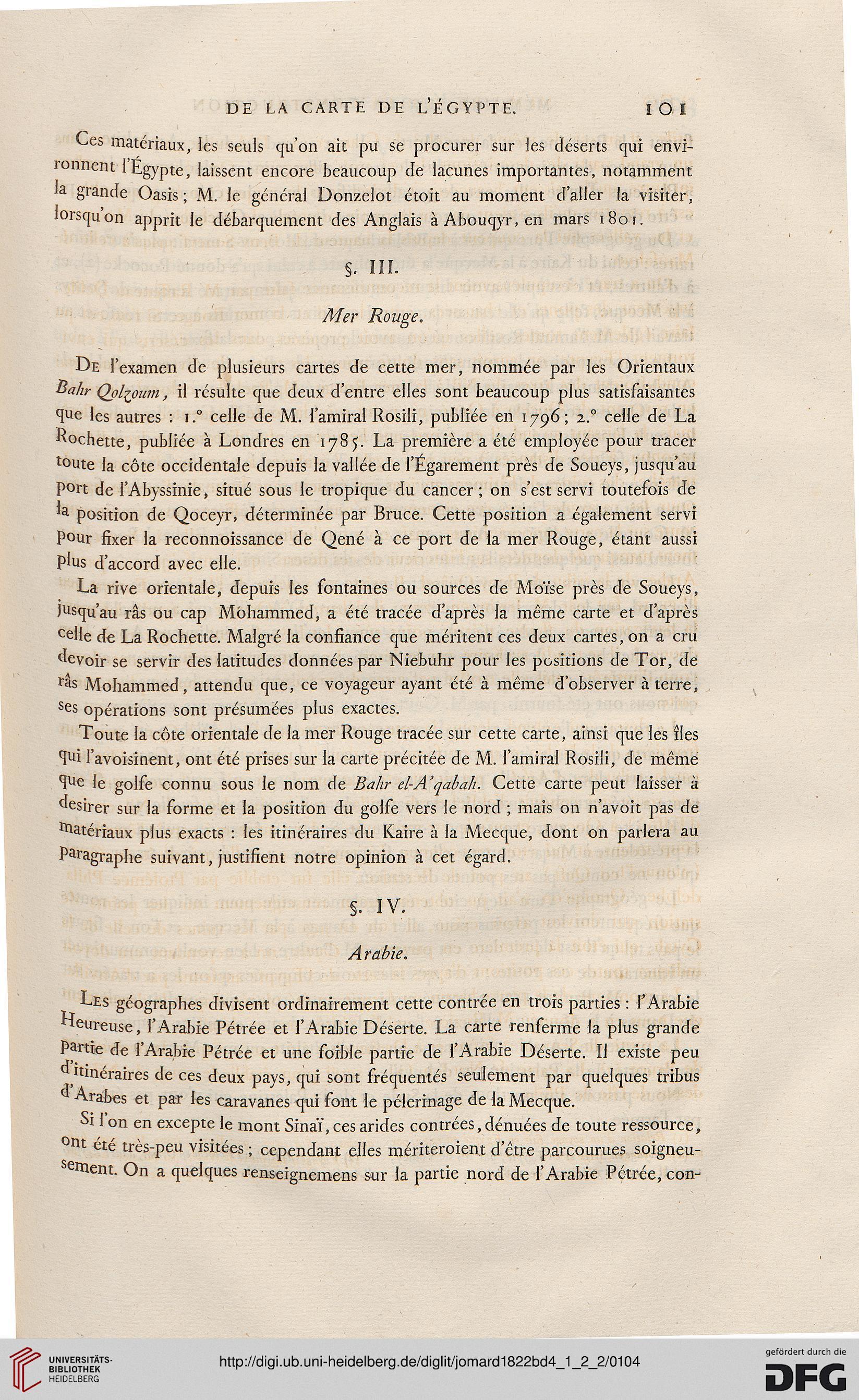 Jomard Edme Francois Hrsg Description De LEgypte Ou Recueil Des Observations Et Recherches Qui Ont Ete Faites En Egypte Pendant Lexpedition
