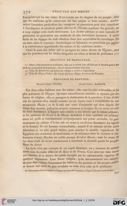 Jomard, Edme François [Hrsg ]: Description de l'Égypte: ou