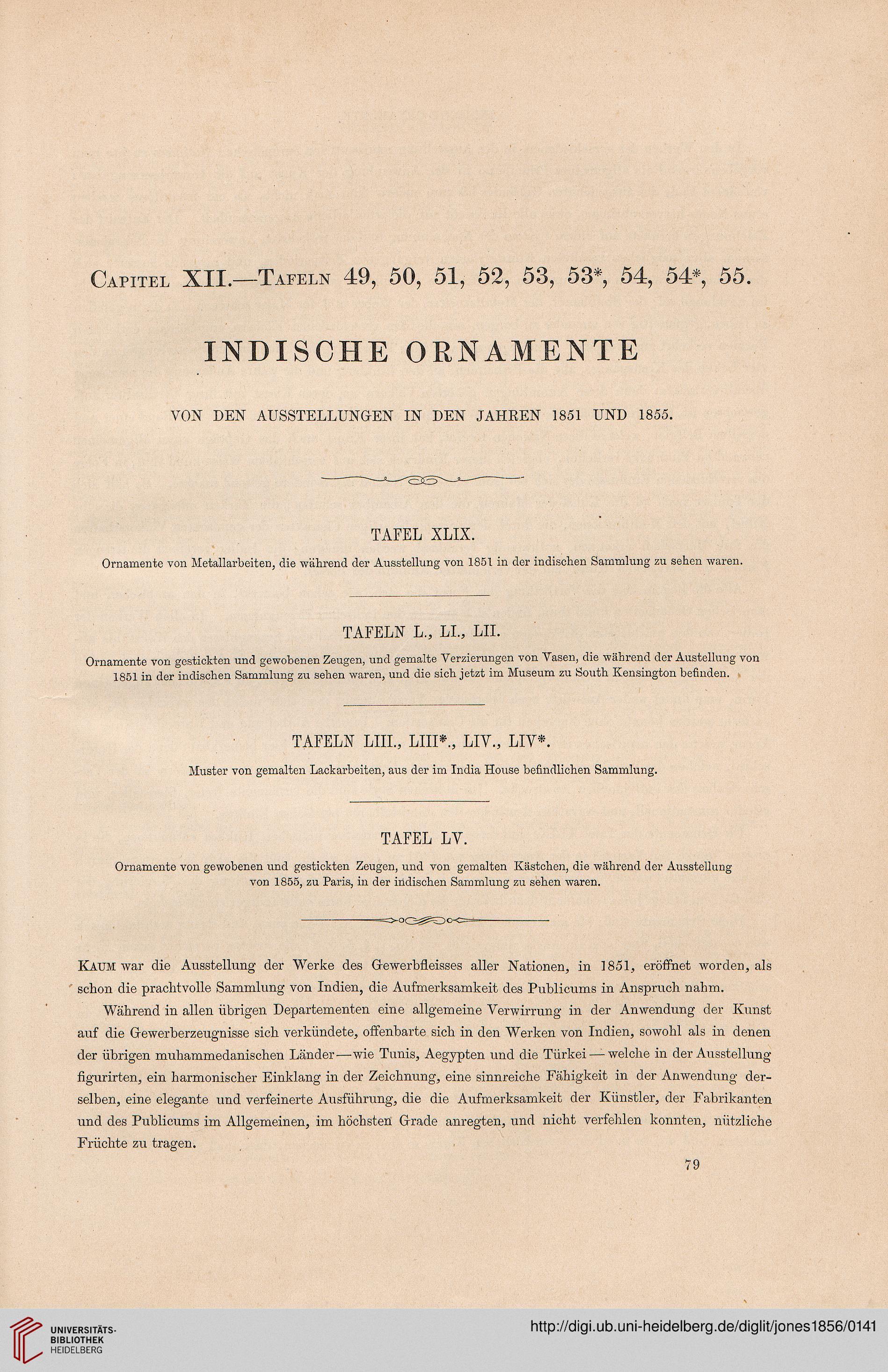 Jones Owen Hrsg Grammatik Der Ornamente Illustrirt Mit Mustern